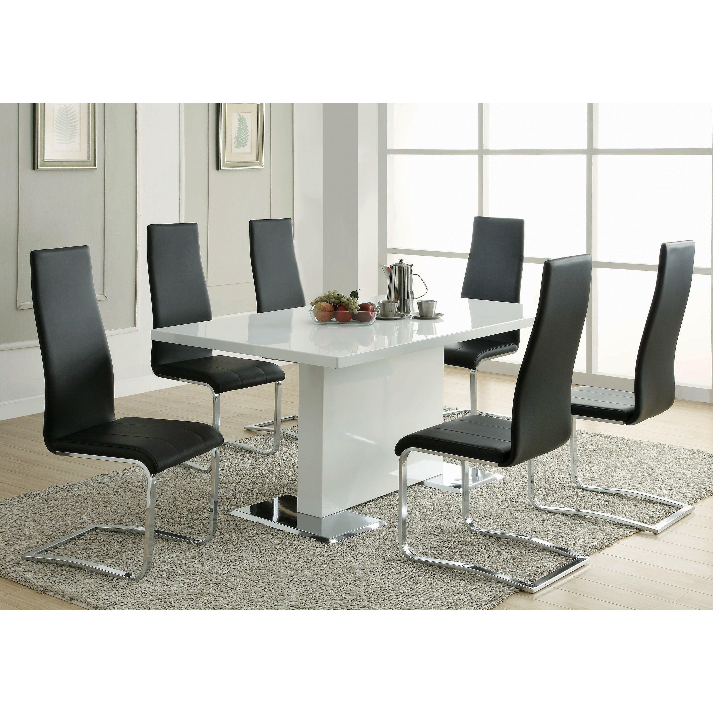Infini furnishings 7 piece dining set wayfair for 7 piece dining set