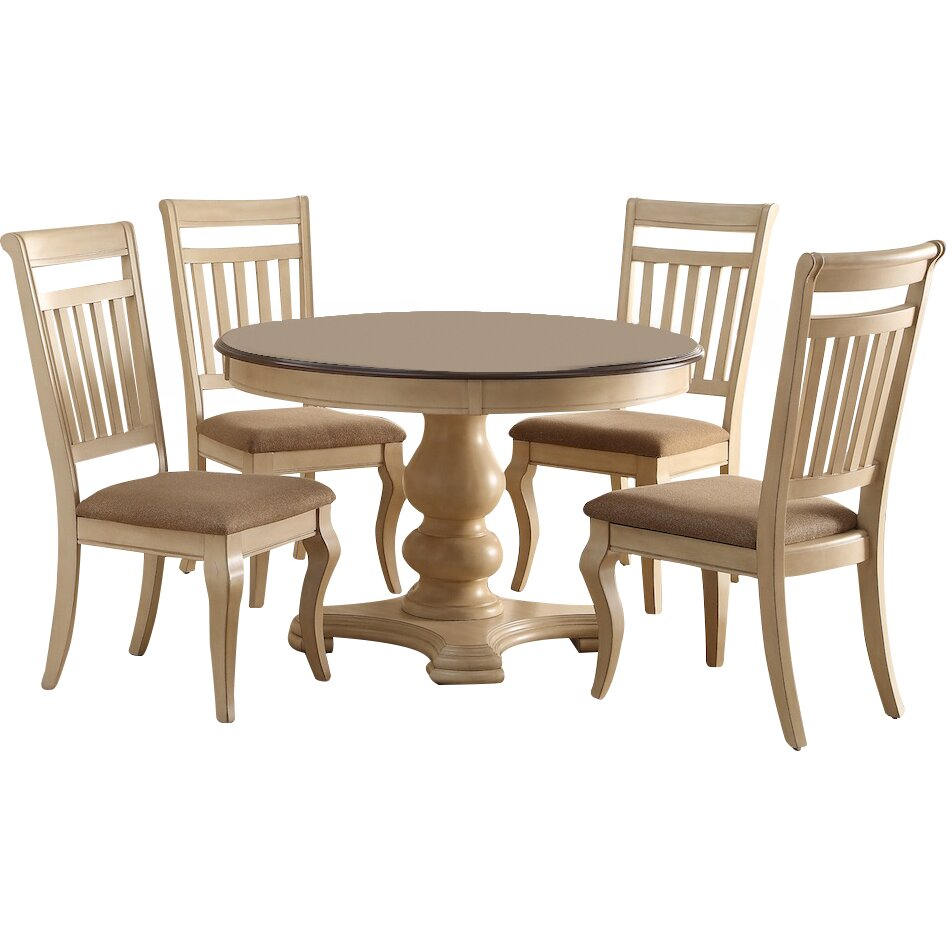 Infini furnishings bella 5 piece dining set reviews for 2 piece dining room set