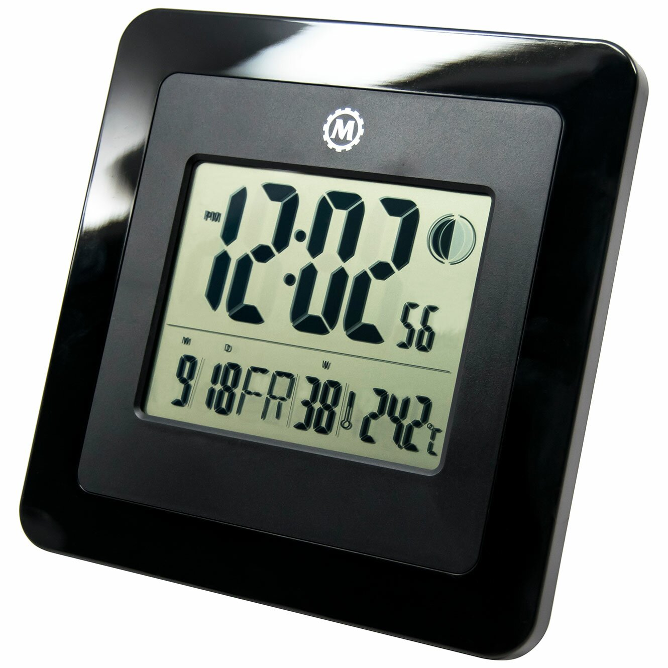 Online digital clock with date