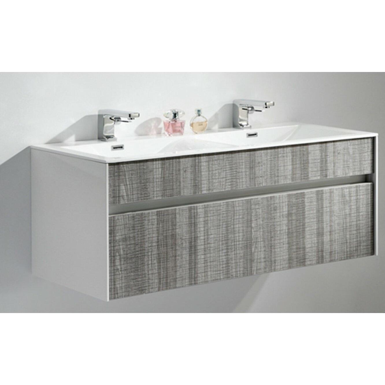 Kube Bath Fitto 48 Double Sink Modern Bathroom Vanity Set Reviews