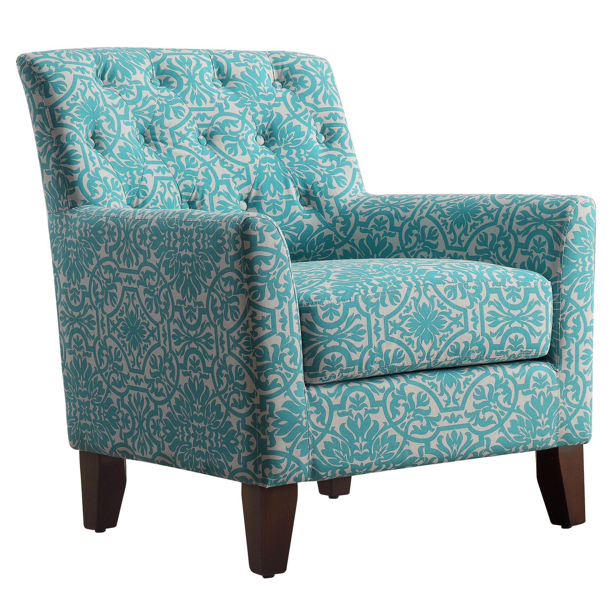 iNSTANT HOME Clara Tufted Armchair & Reviews | Wayfair