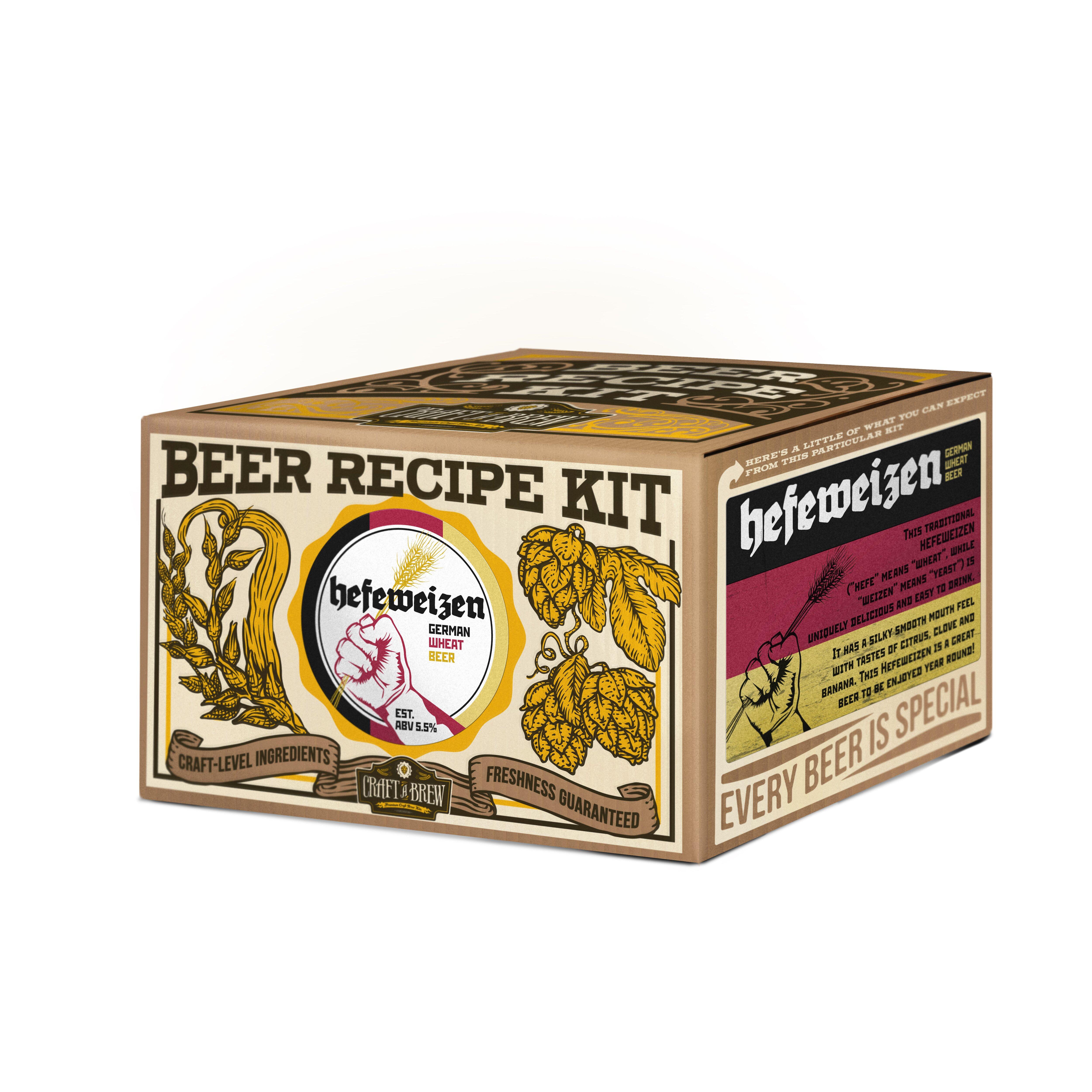 craft a brew hefeweizen beer recipe kit wayfair. Black Bedroom Furniture Sets. Home Design Ideas