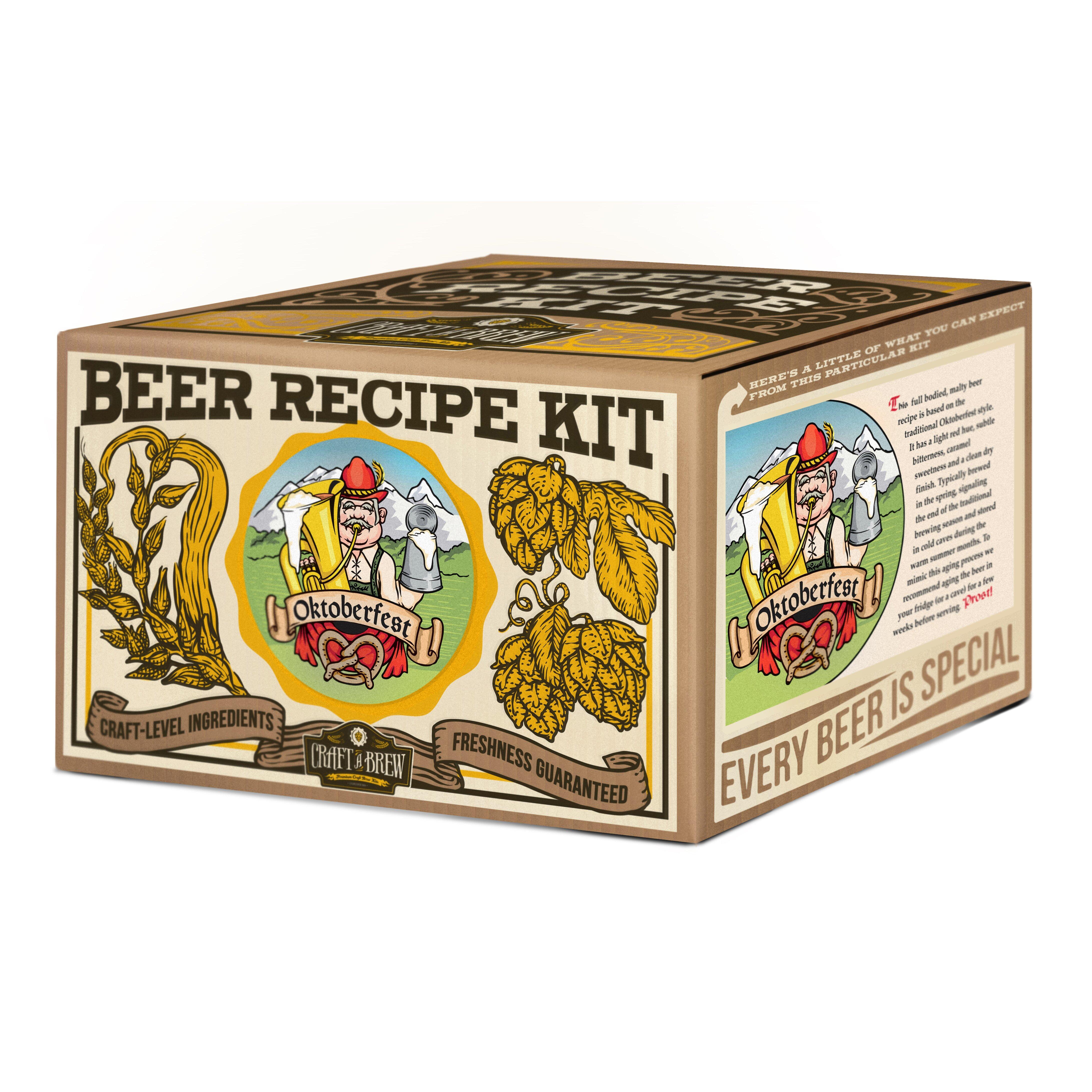 craft a brew oktoberfest ale beer recipe kit reviews. Black Bedroom Furniture Sets. Home Design Ideas