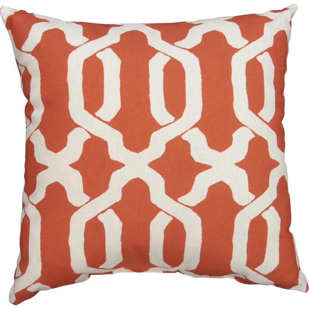 Throw Pillows Plain : Plantation Patterns Ogee Outdoor Throw Pillow & Reviews Wayfair