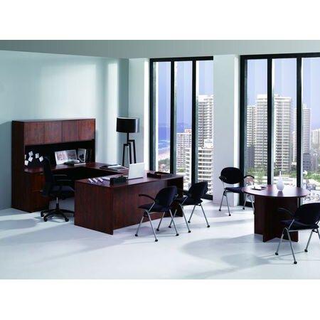 Conklin Office Furniture 8 Piece U Shape Desk Office Suite