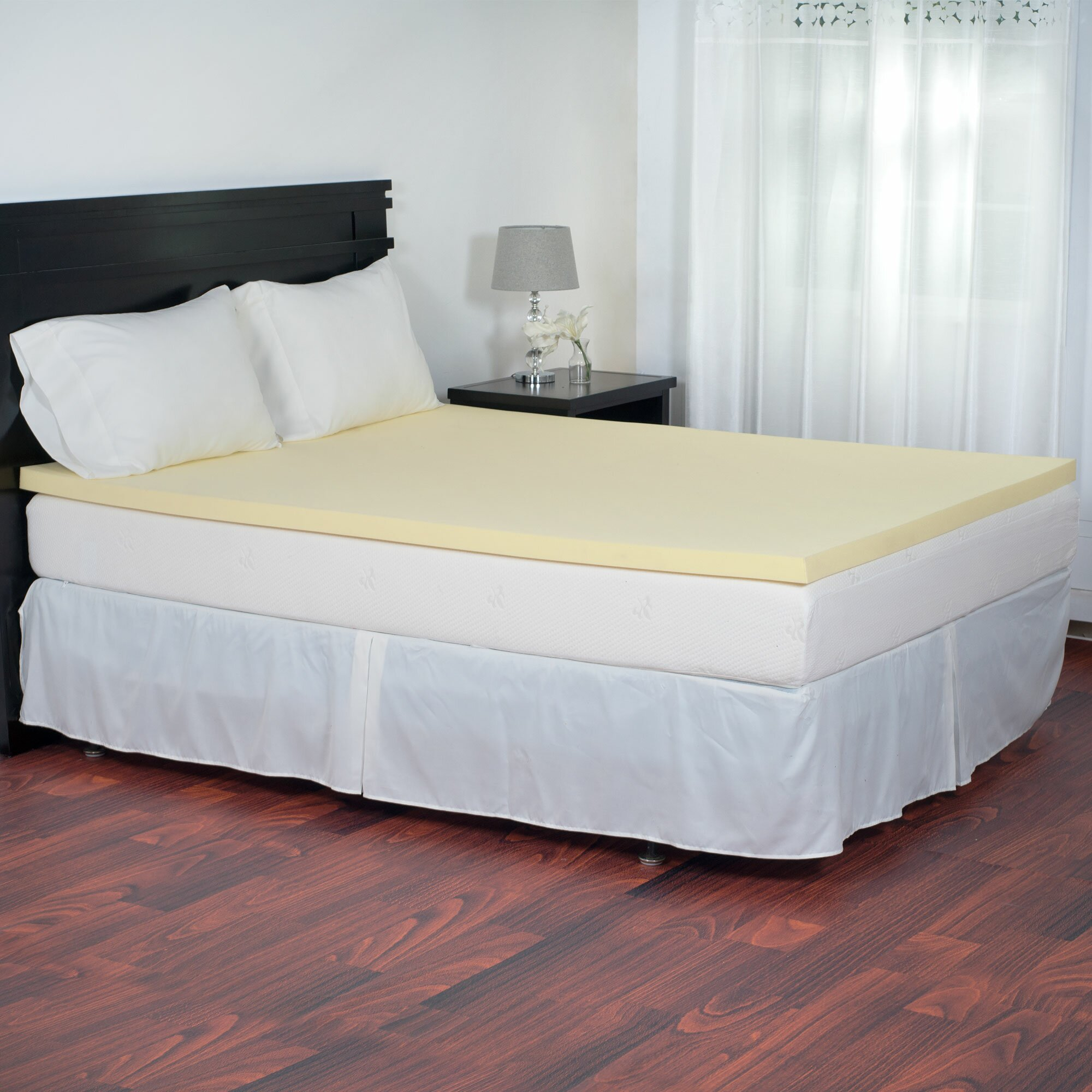 bluestone magic memory foam topper wayfair. Black Bedroom Furniture Sets. Home Design Ideas