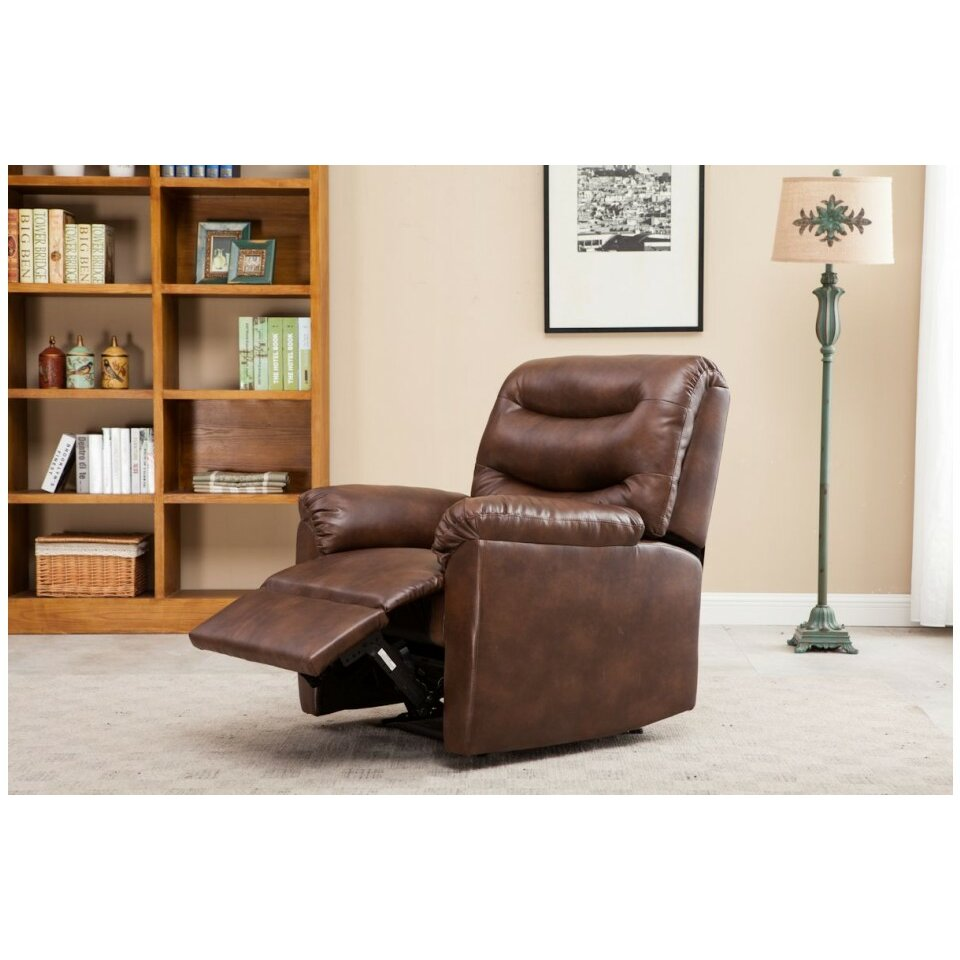 home loft concept reagan recliner reviews wayfair uk. Black Bedroom Furniture Sets. Home Design Ideas