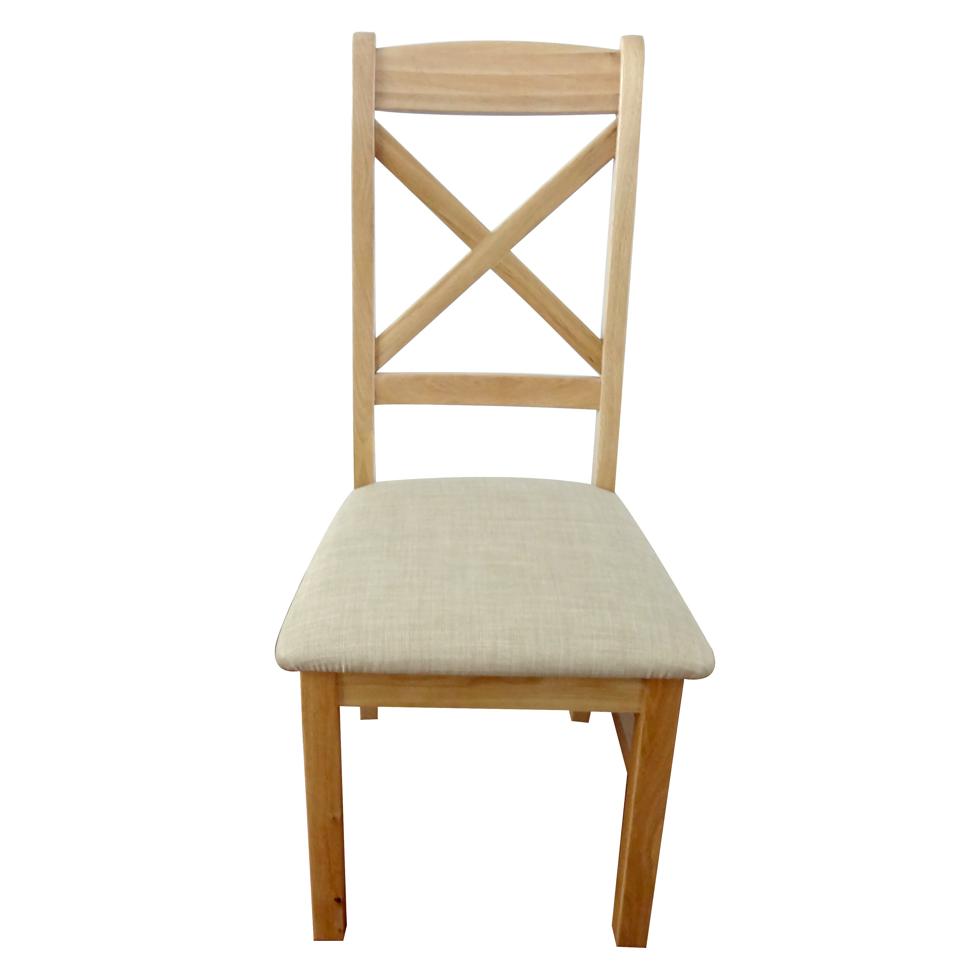 Hazelwood Home Solid Wood Upholstered Dining Chair