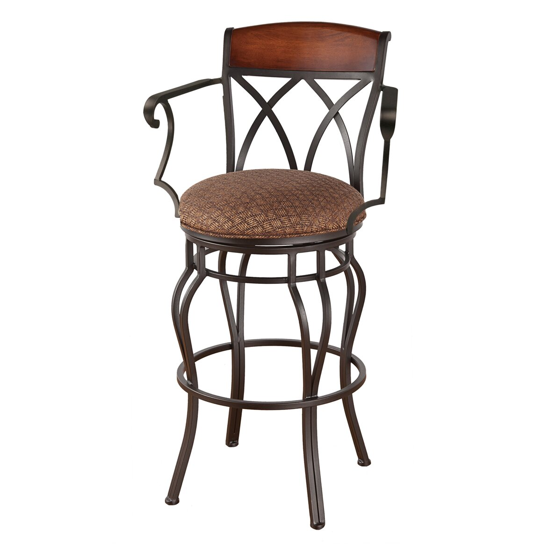 Callee hayward quot swivel bar stool wayfair
