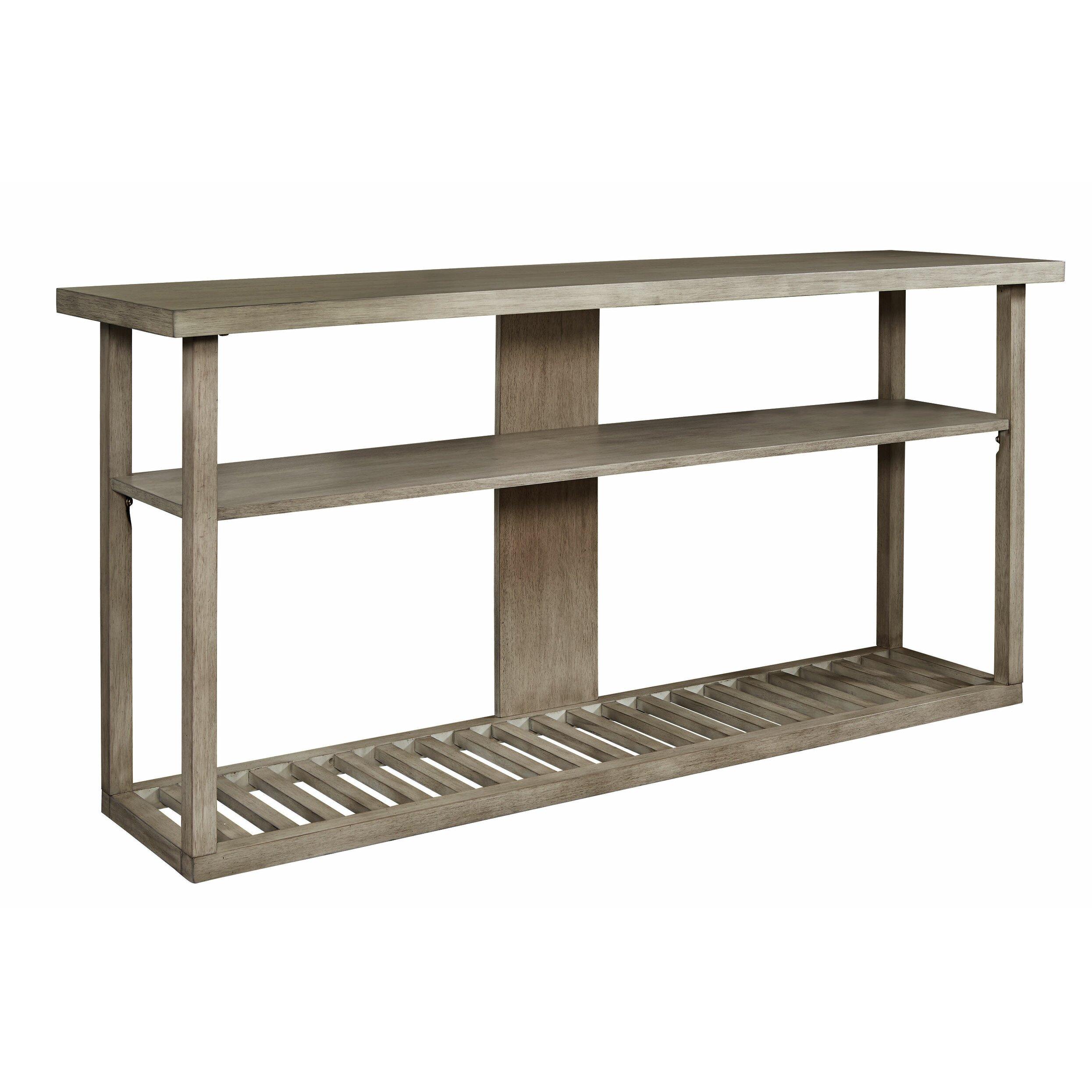 Canora grey golder console table wayfair for Sofa table grey