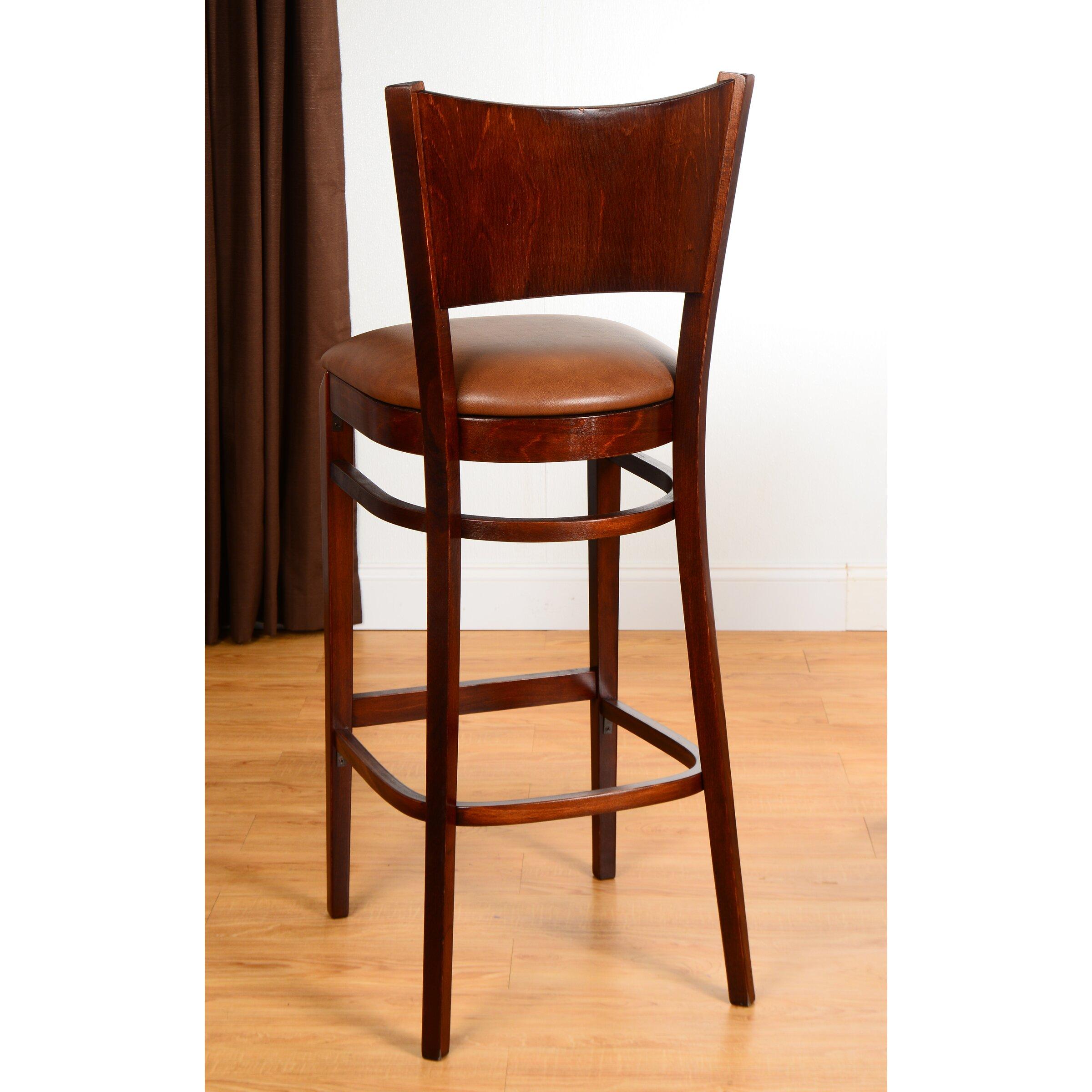 Benkel Seating Triangle 30 Quot Bar Stool Wayfair Ca