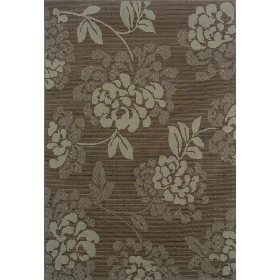 Threadbind milltown grey blue indoor outdoor area rug for Landscape indoor area rug