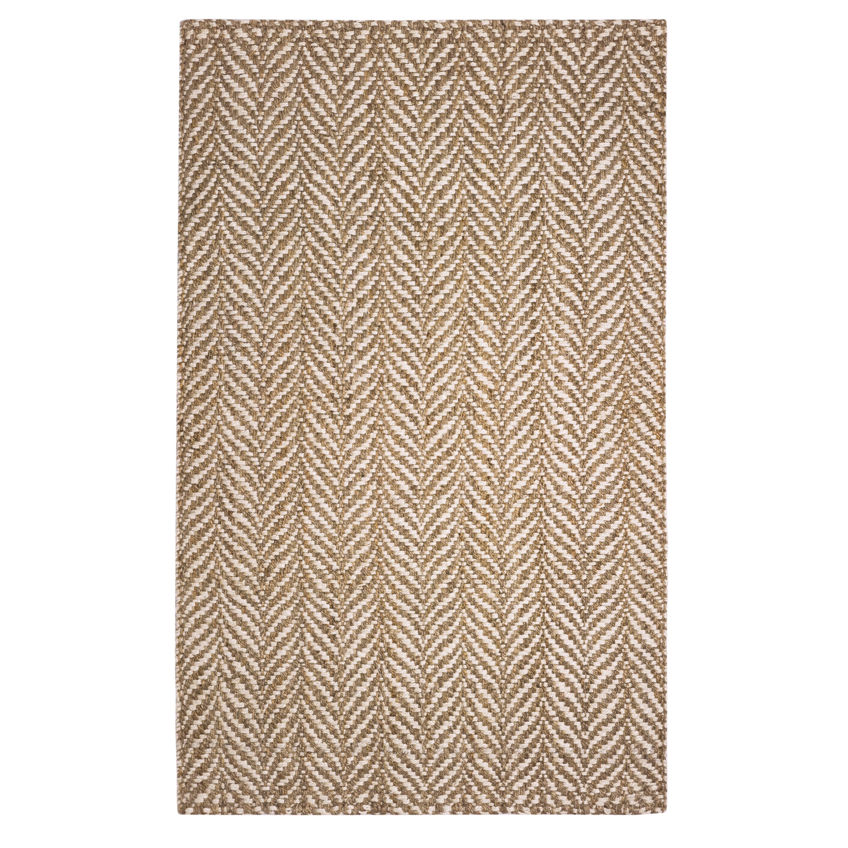the conestoga trading co hines hand woven brown white