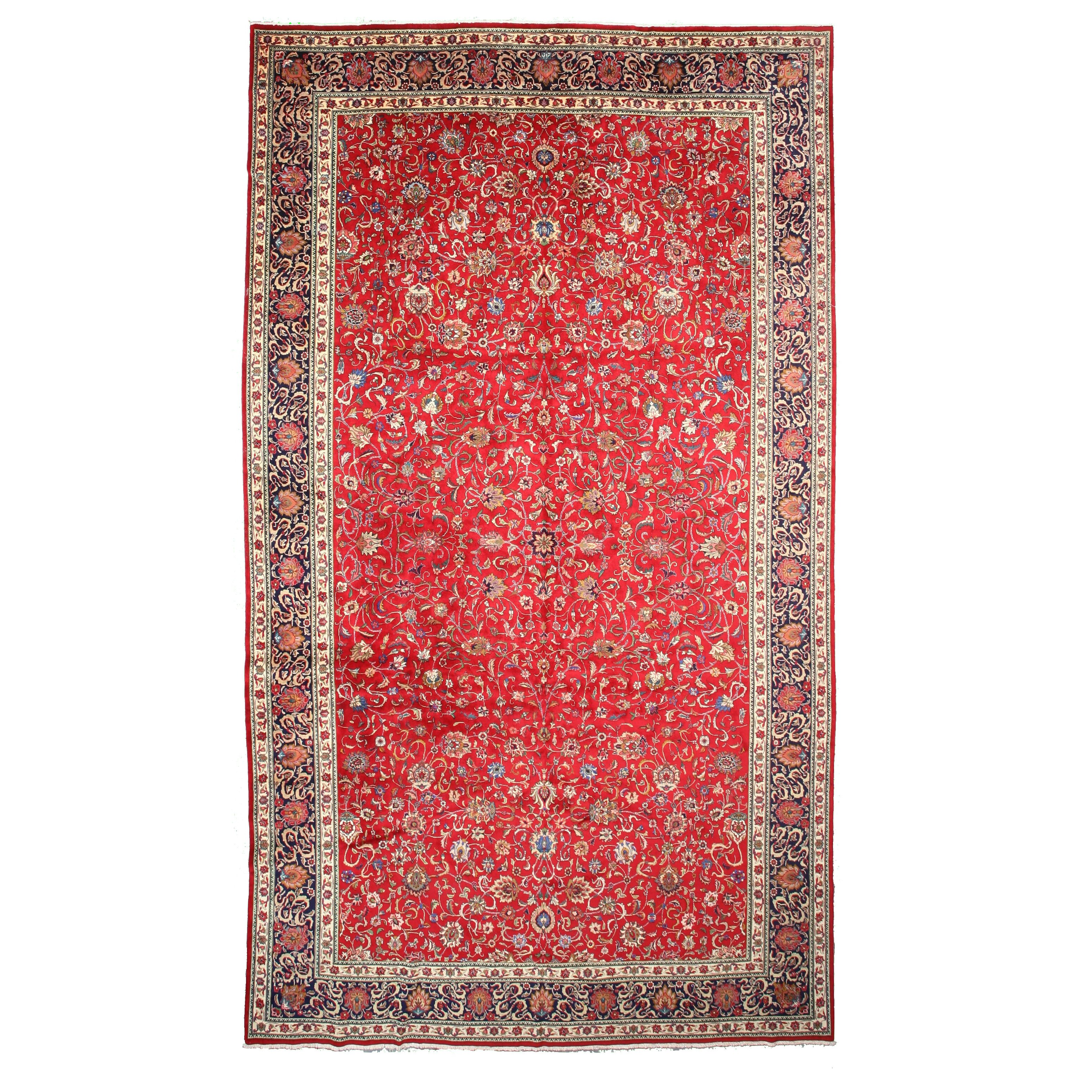meridian rugmakers knotted red area rug wayfair