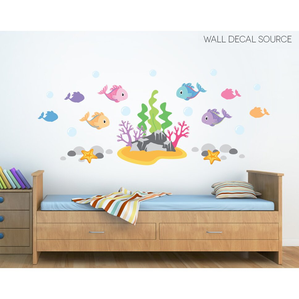 Wall Decal Source Under the Ocean Fish Under The Sea
