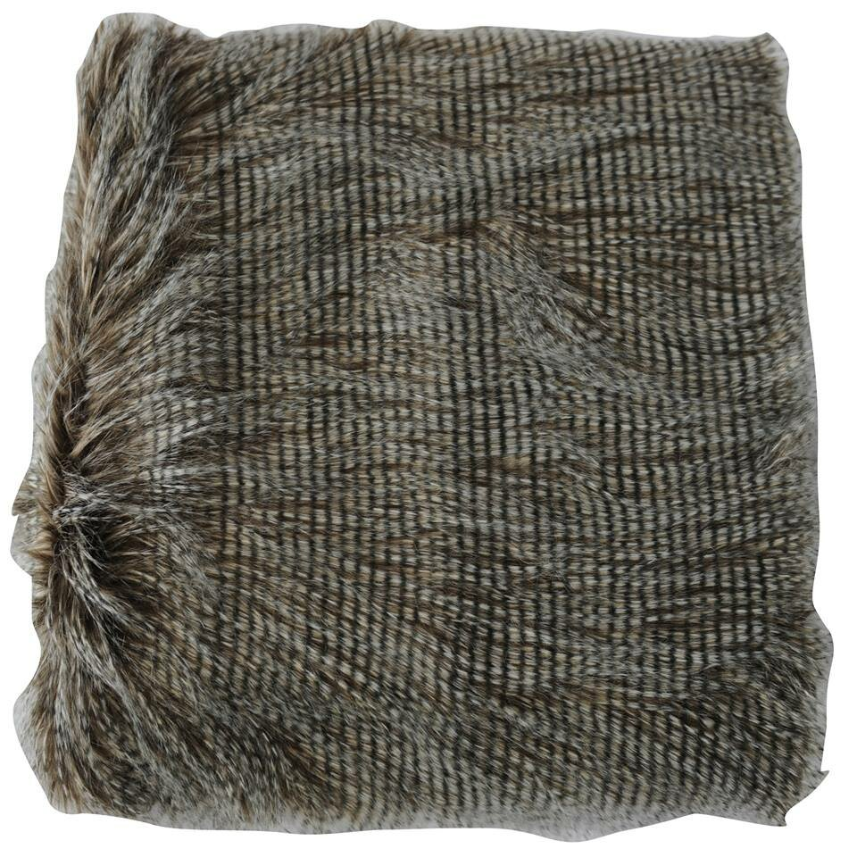 Anna Ricci Faux Fur Animal Throw Blanket Amp Reviews Wayfair