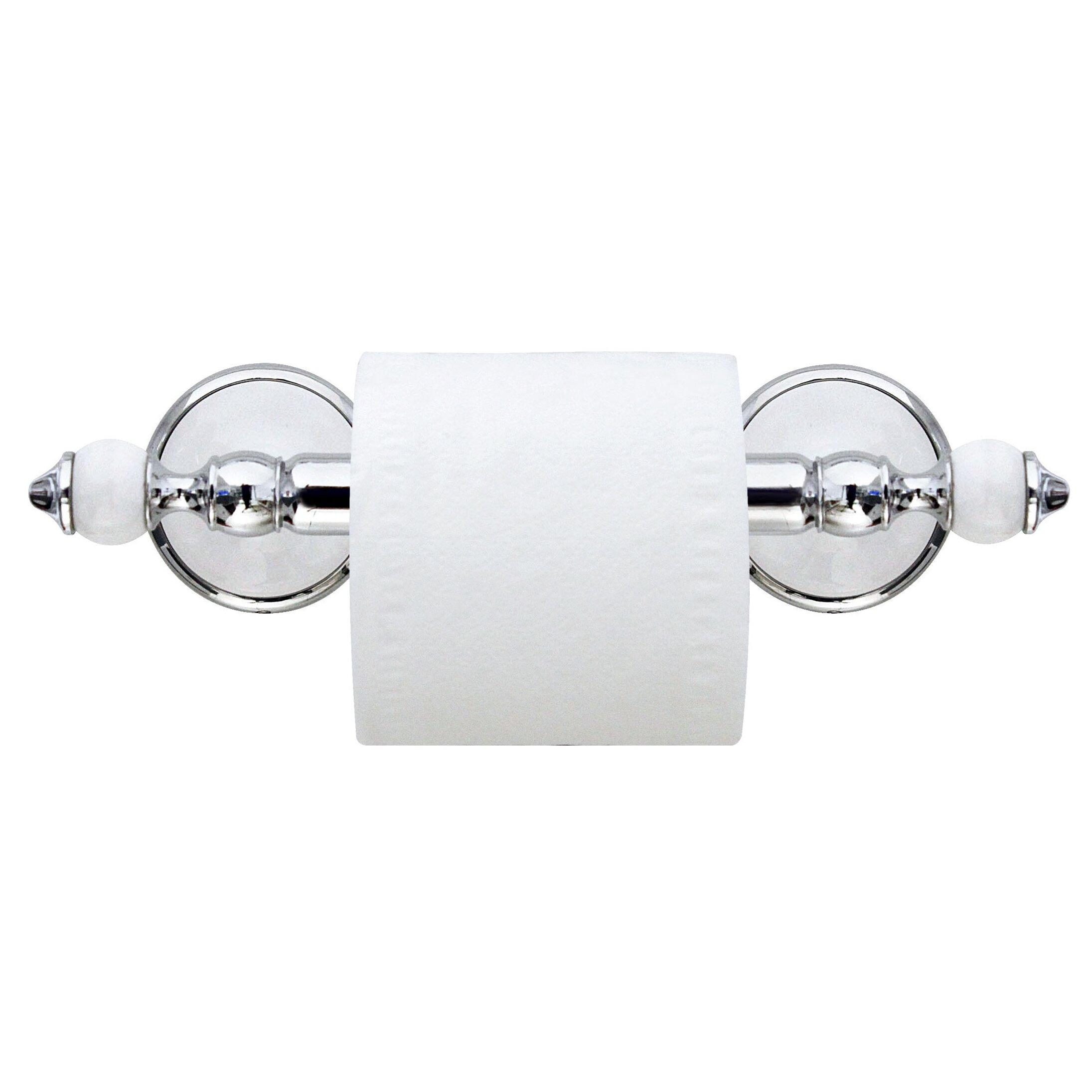 modona arora wall mounted toilet paper holder wayfair. Black Bedroom Furniture Sets. Home Design Ideas