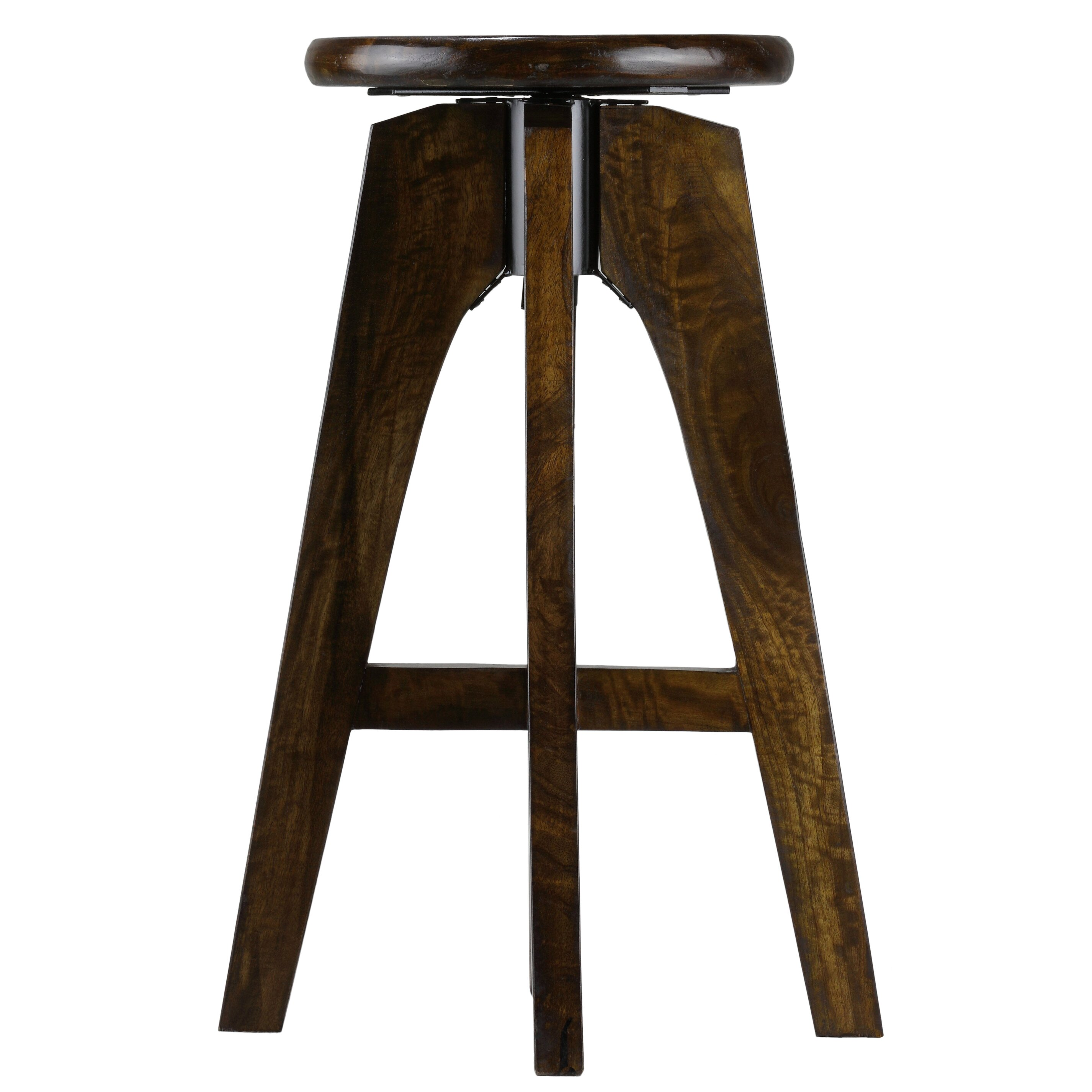 Baredecor Adjustable Height Swivel Bar Stool Wayfair Ca
