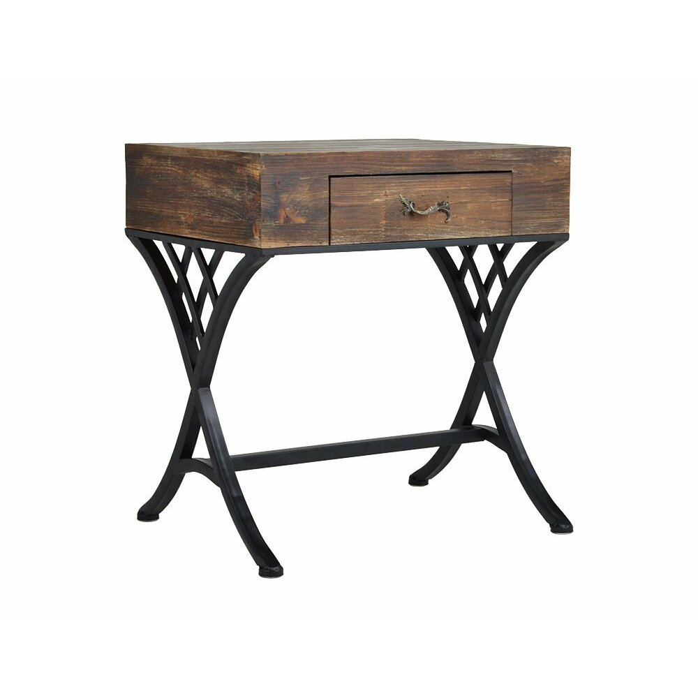 Utopiaalley Rustic Living End Table Reviews