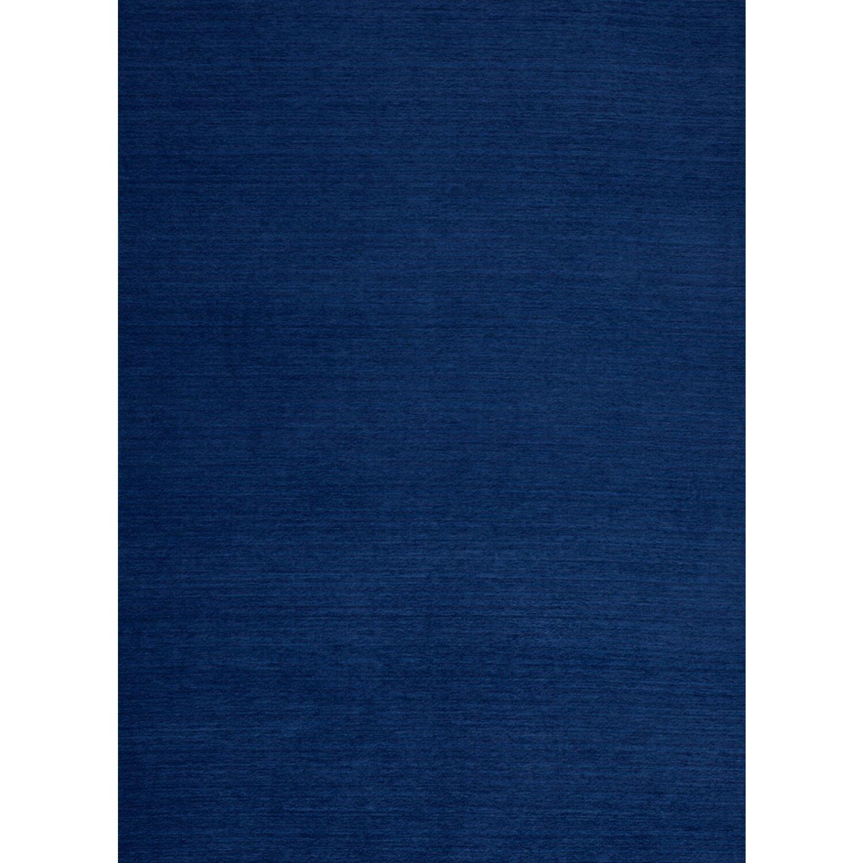Ruggable Flat Woven Navy Blue Indoor Outdoor Area Rug
