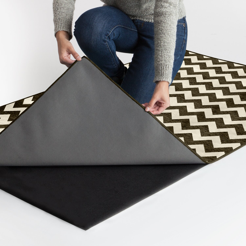 ruggable black and white area rug wayfair. Black Bedroom Furniture Sets. Home Design Ideas