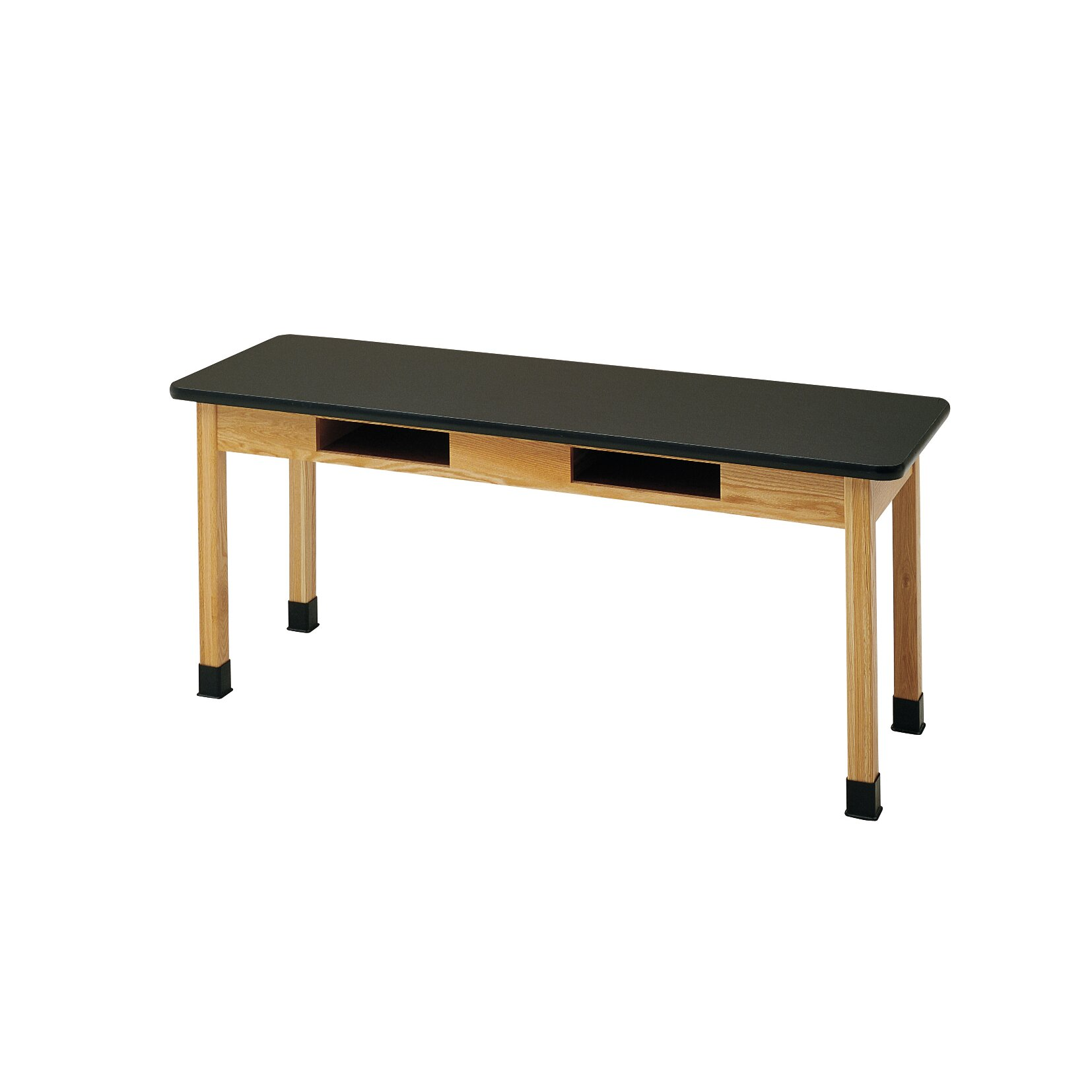 Diversified Woodcrafts Plain Apron Science Table With 2