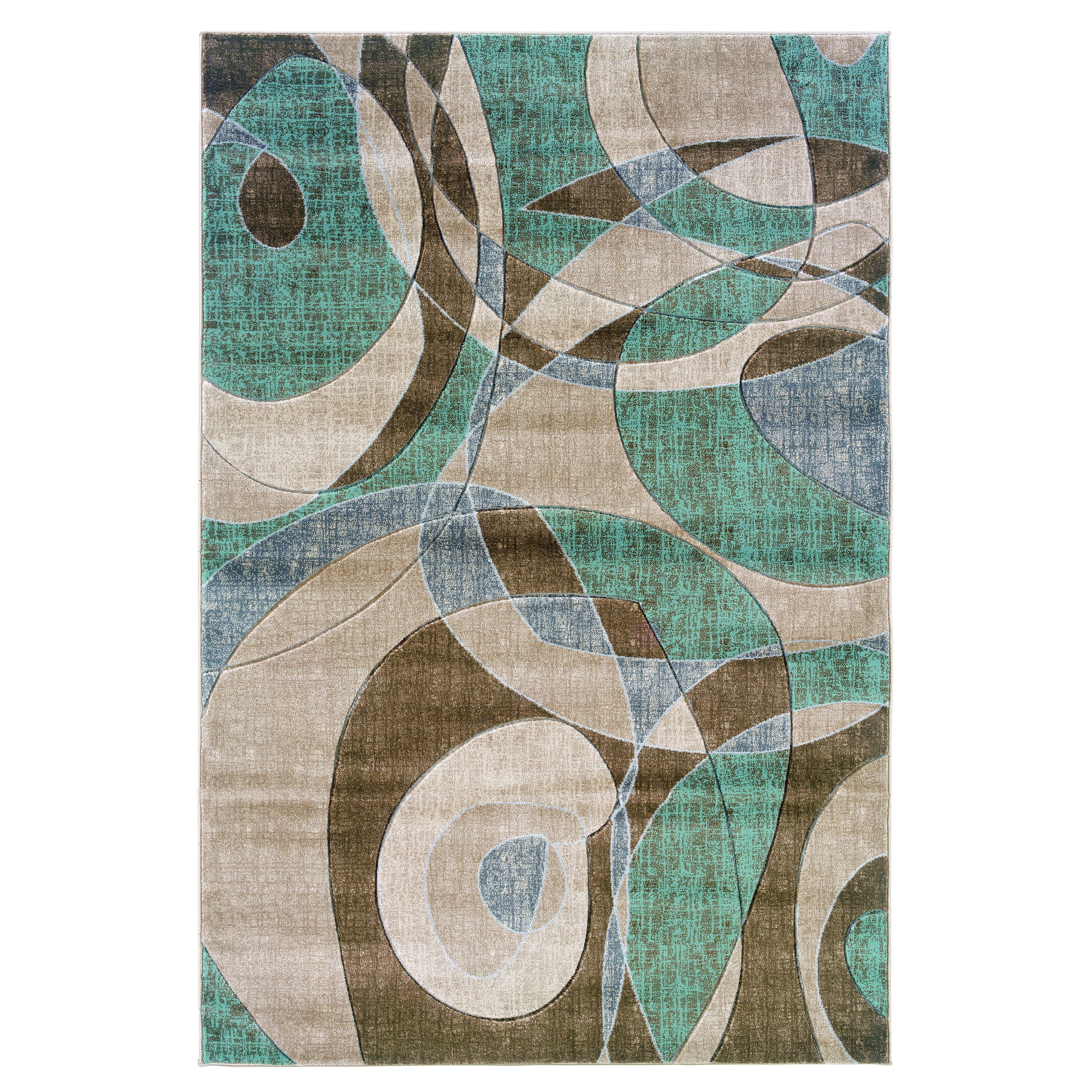 Zoubir Turquoise Area Rug Reviews: Threadbind Dixon Brown/Turquoise Area Rug & Reviews