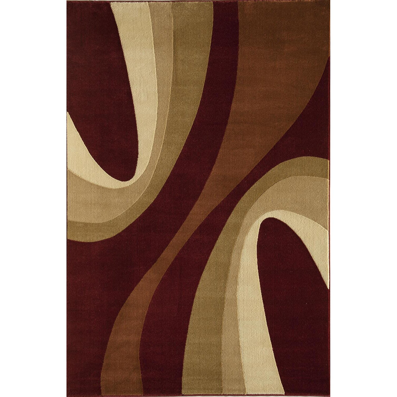 Threadbind Jordan Red Area Rug Reviews Wayfair