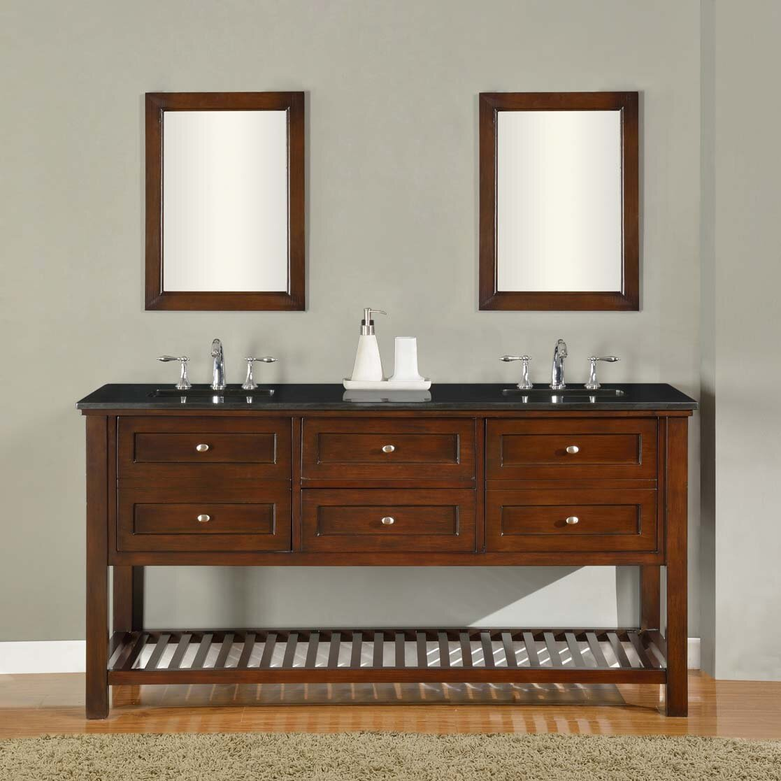 direct vanity sink mission spa 70 double bathroom vanity set