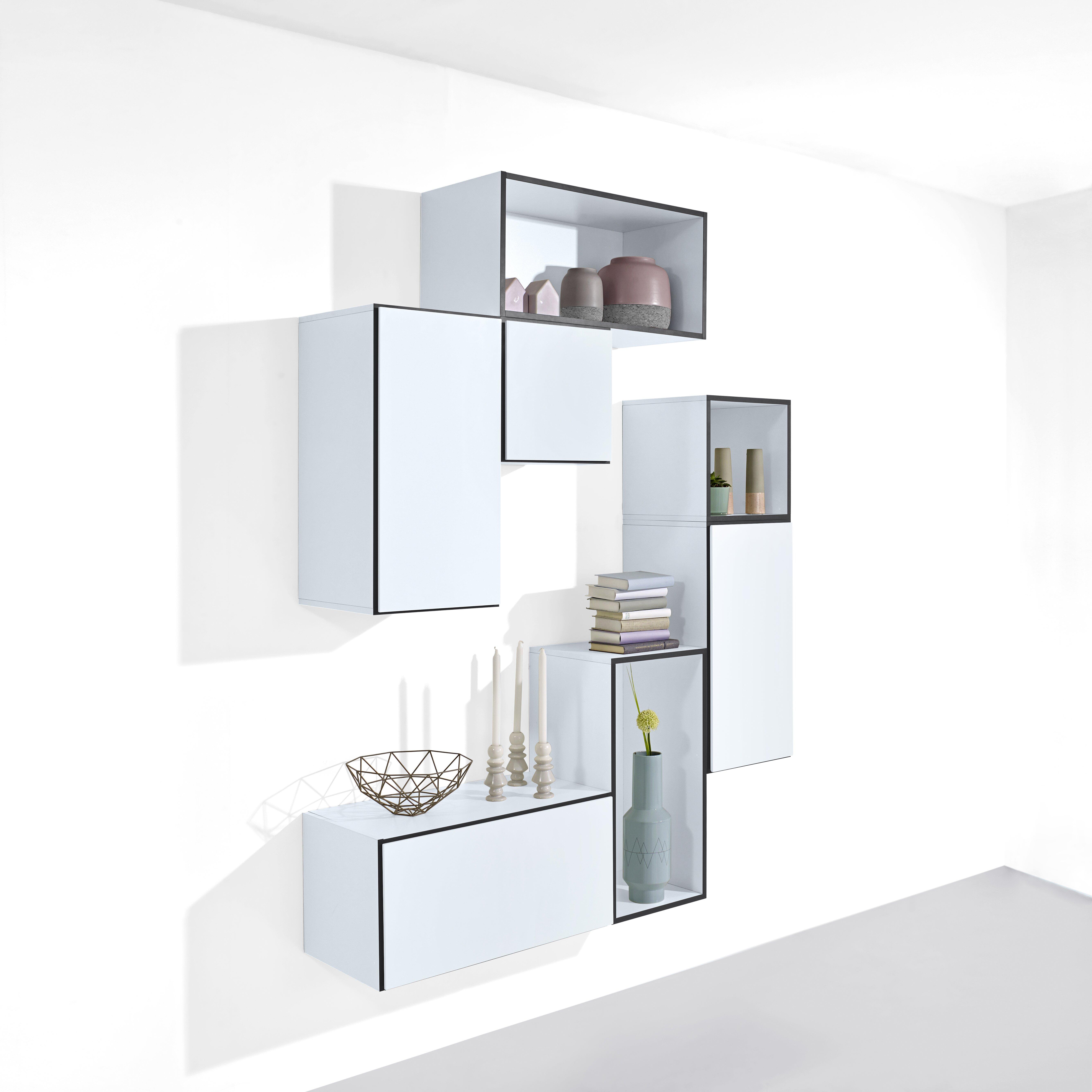 noobeeass just a box wall shelf reviews wayfair uk. Black Bedroom Furniture Sets. Home Design Ideas