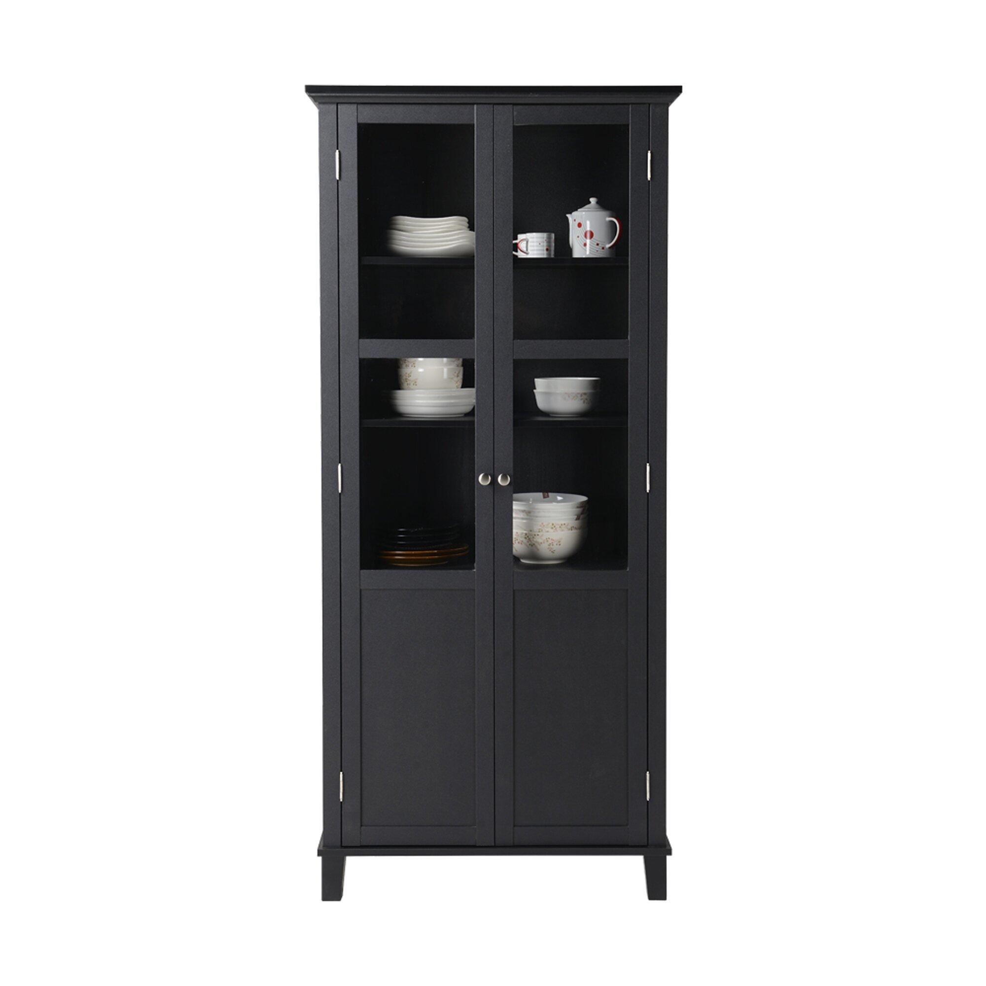 latitude run hamilton 2 door storage cabinet reviews wayfair. Black Bedroom Furniture Sets. Home Design Ideas