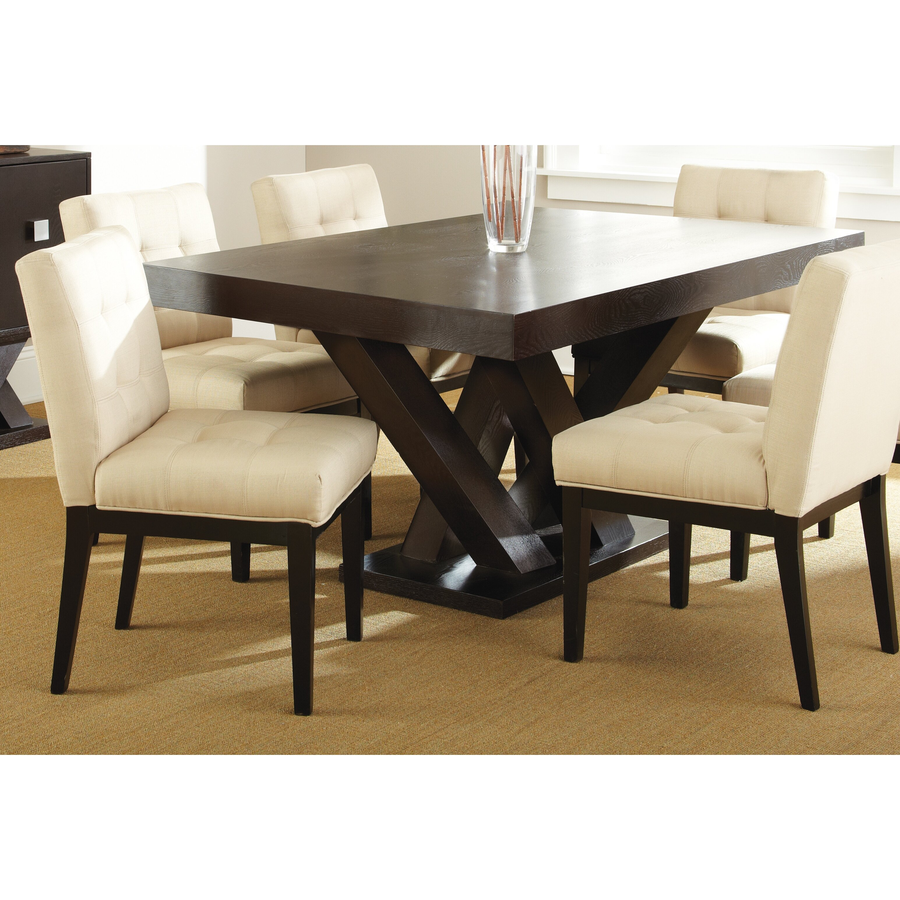 Latitude run dining table reviews wayfair for Wayfair dining table