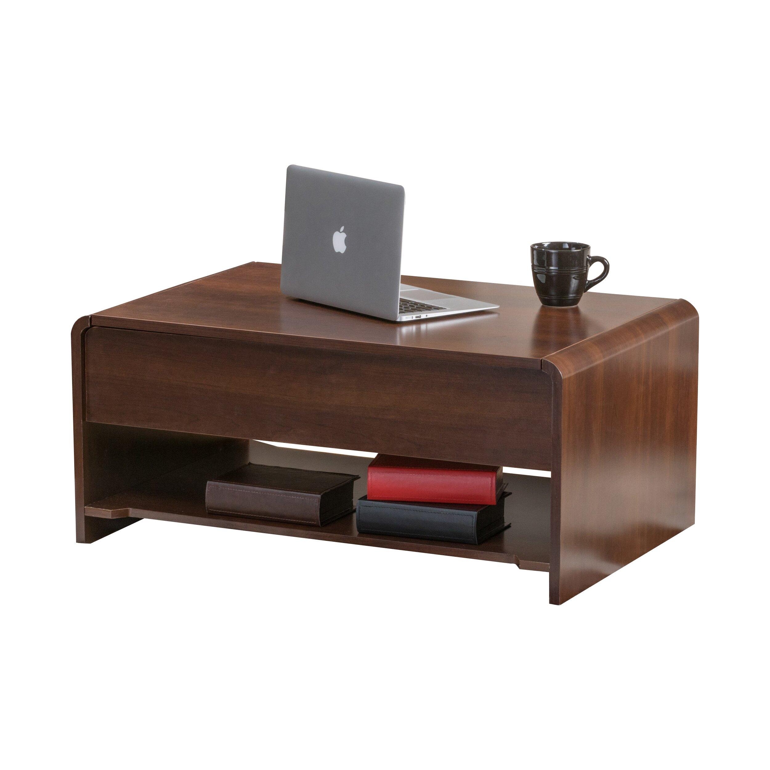Latitude run lift top storage coffee table reviews wayfair for Wayfair coffee tables with storage