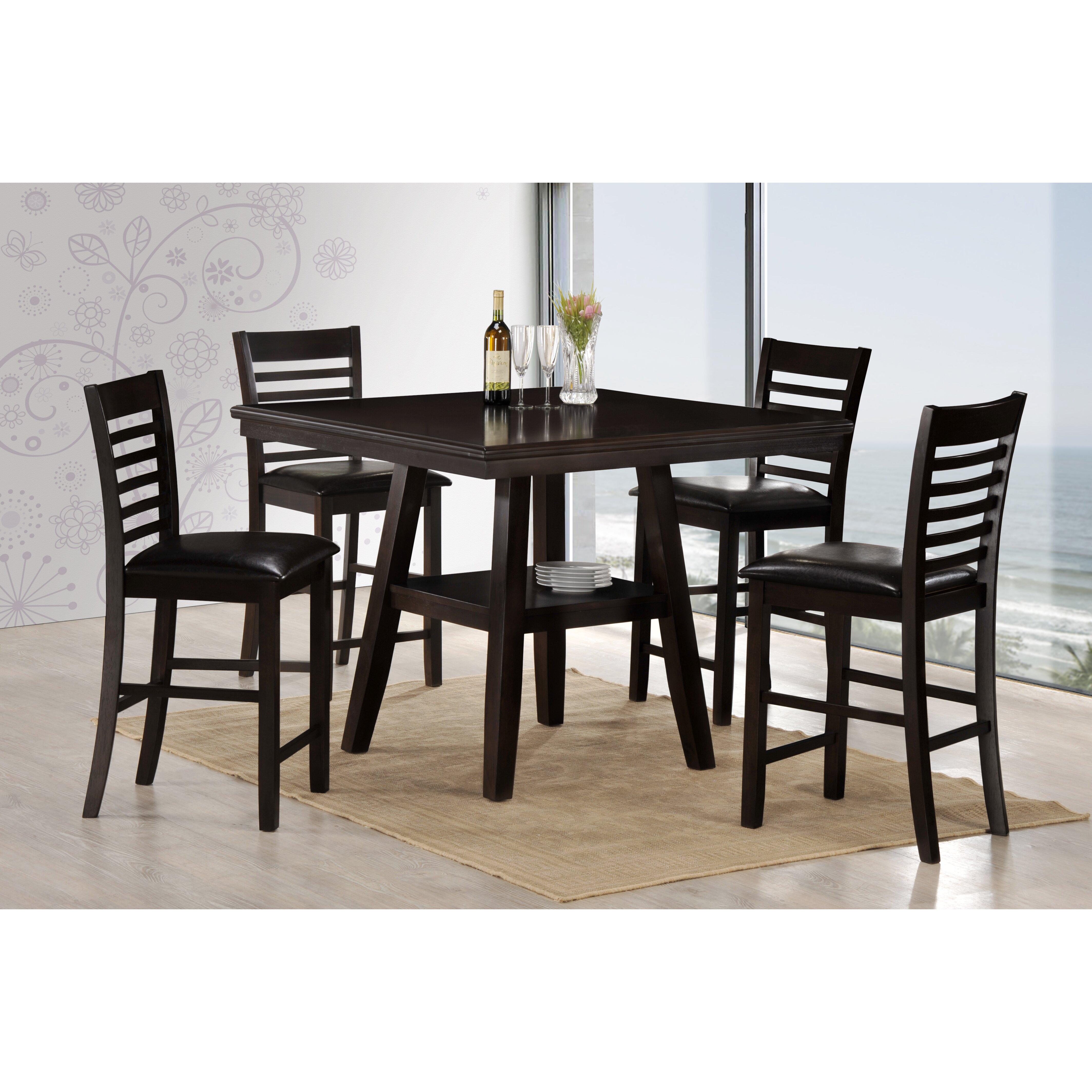 Square Coffee Table By Latitude Run: Latitude Run Harrells 5 Piece Dining Set By Simmons