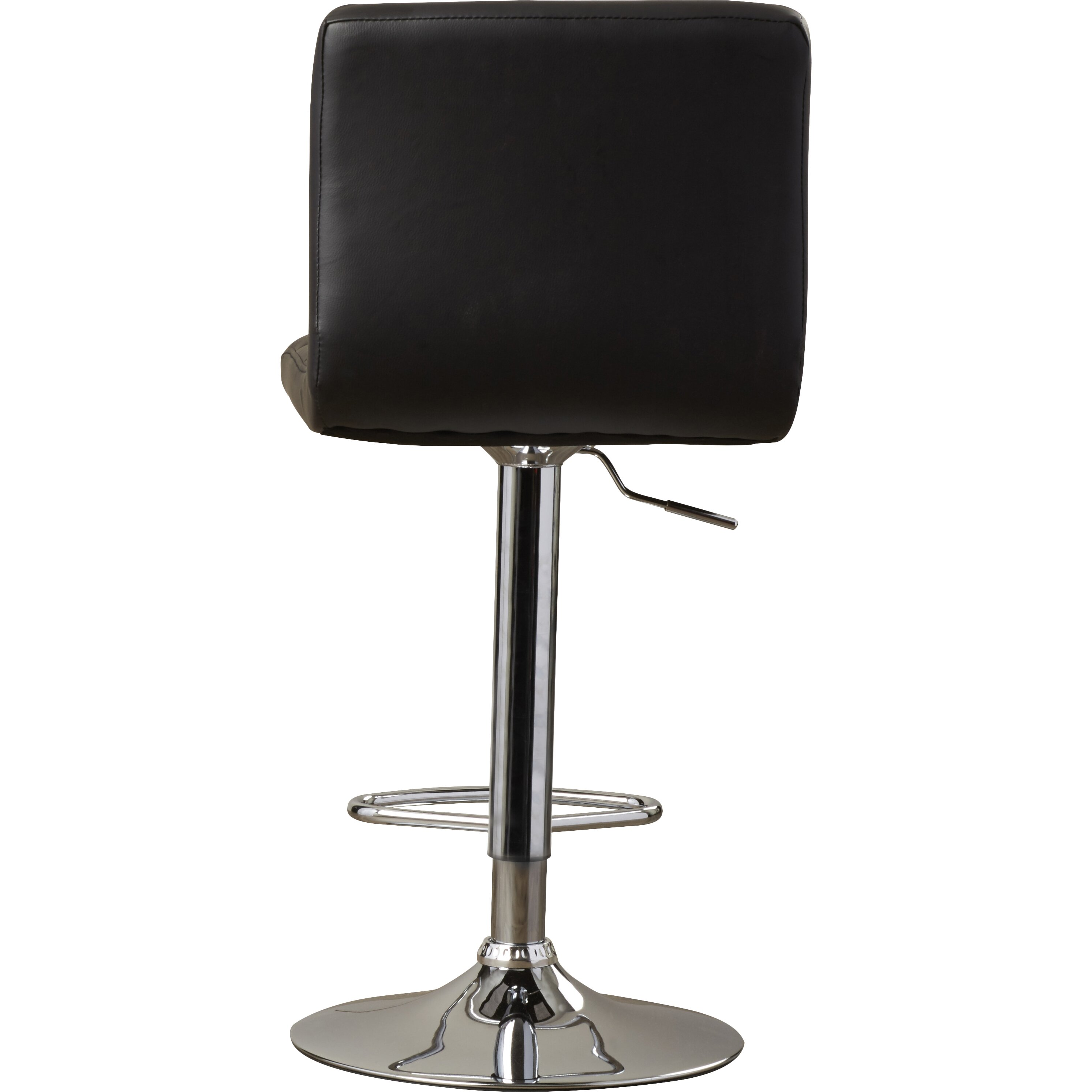 Latitude Run Andres Adjustable Height Swivel Bar Stool Amp Reviews Wayfair