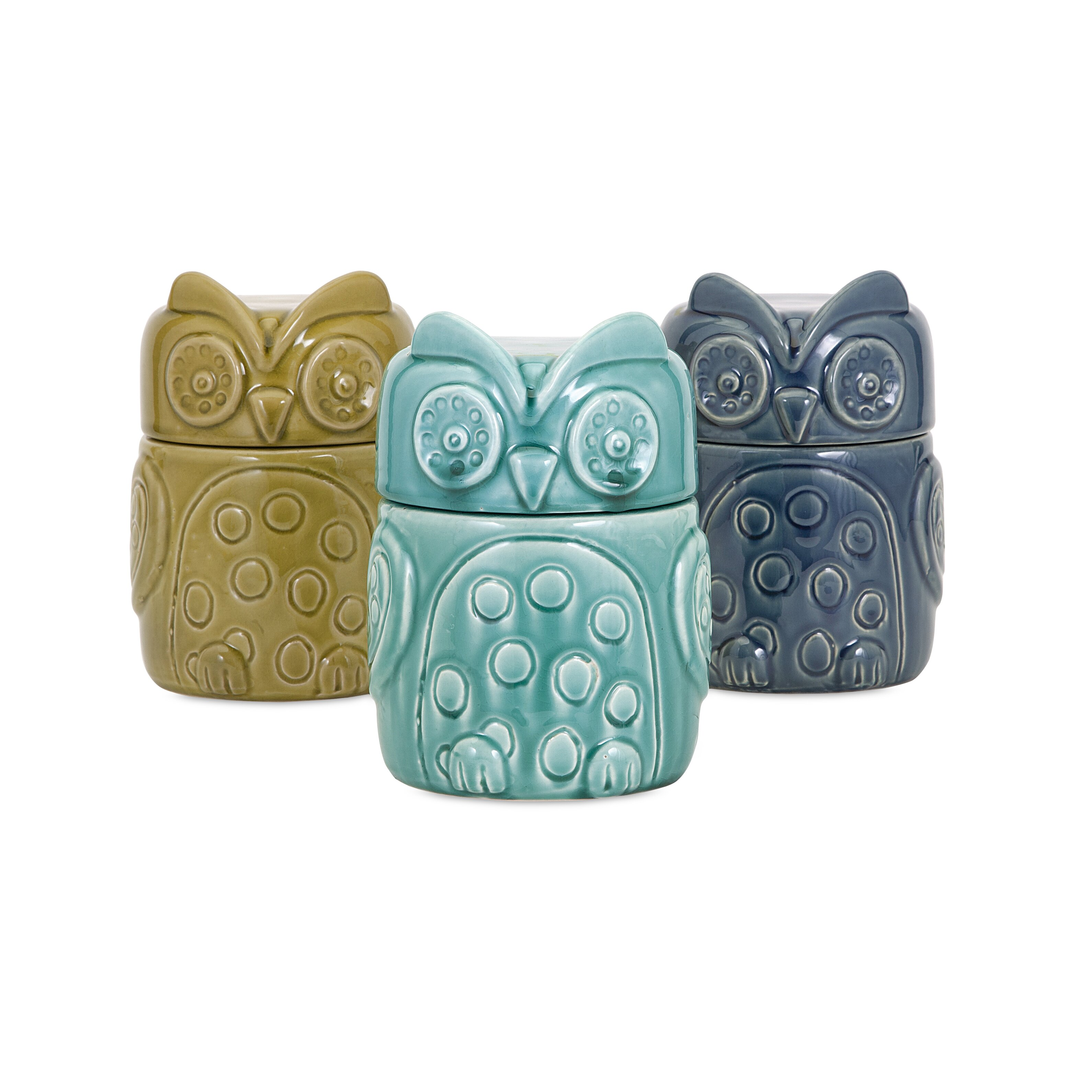 Owl Kitchen Decor Walmart: Latitude Run Owl Canister & Reviews