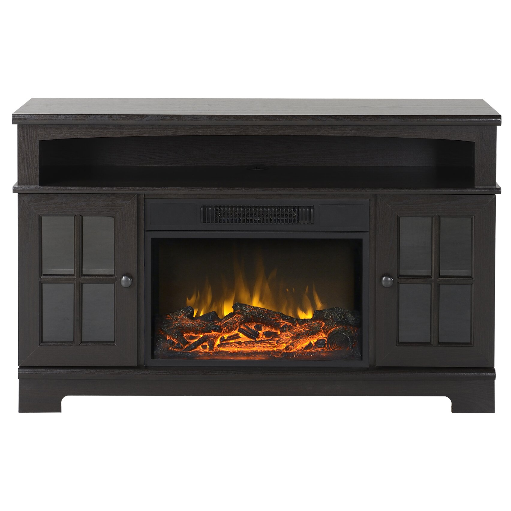 Latitude Run Oliver Tv Stand With Electric Fireplace