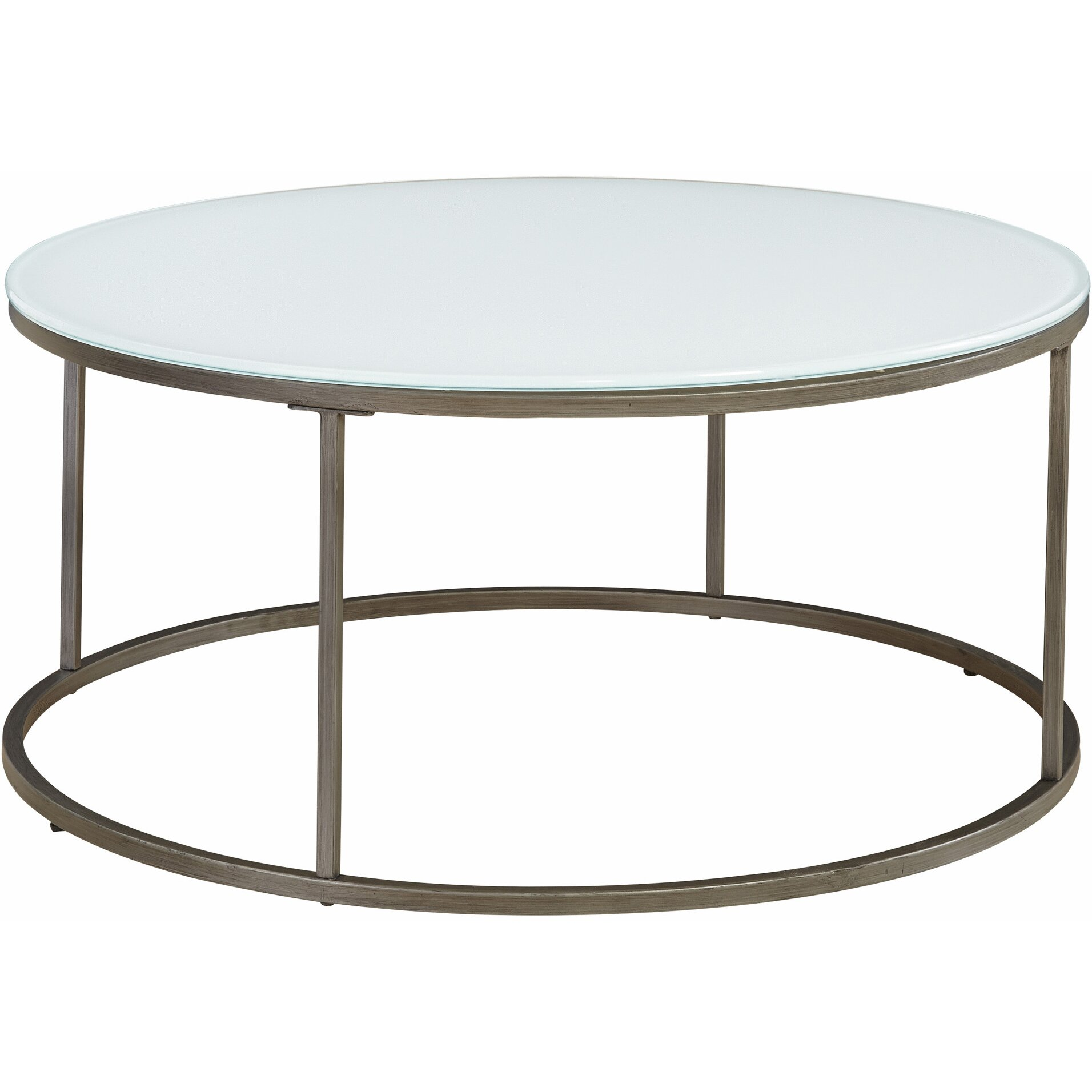 Latitude Run Alfreda Round Coffee Table & Reviews