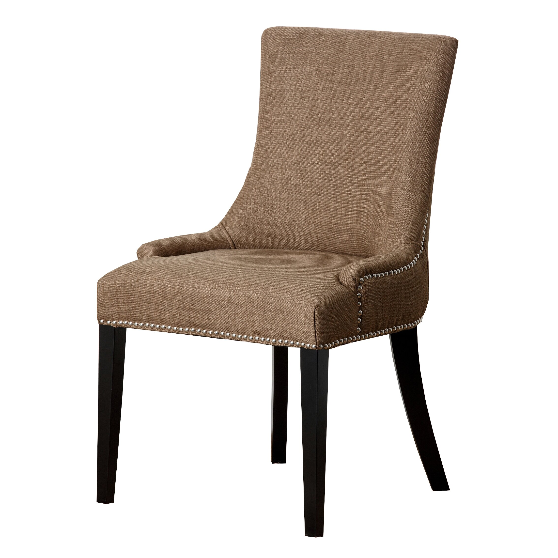 Latitude Run Arline Nailhead Dining Chair & Reviews