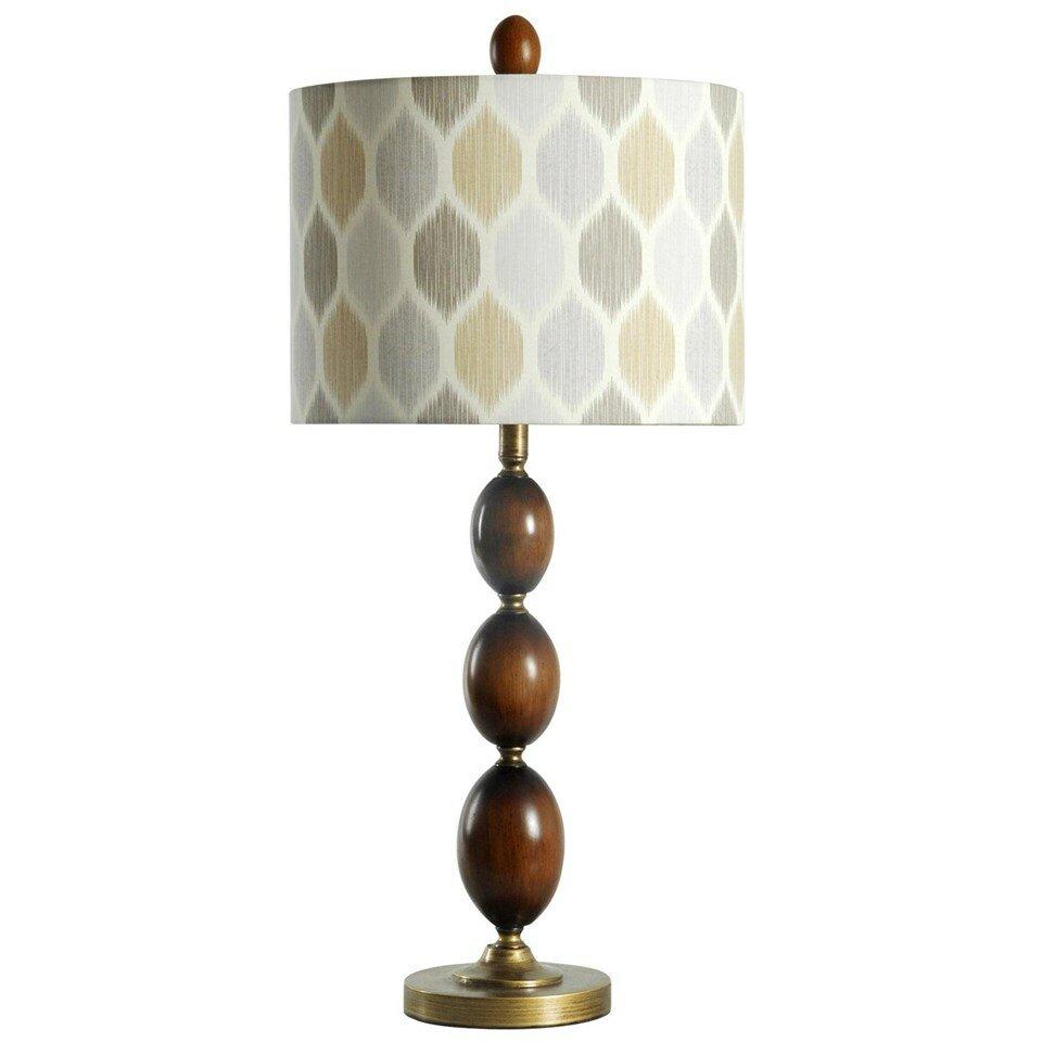 latitude run devonport art deco wood 33 5 table lamp wayfair. Black Bedroom Furniture Sets. Home Design Ideas