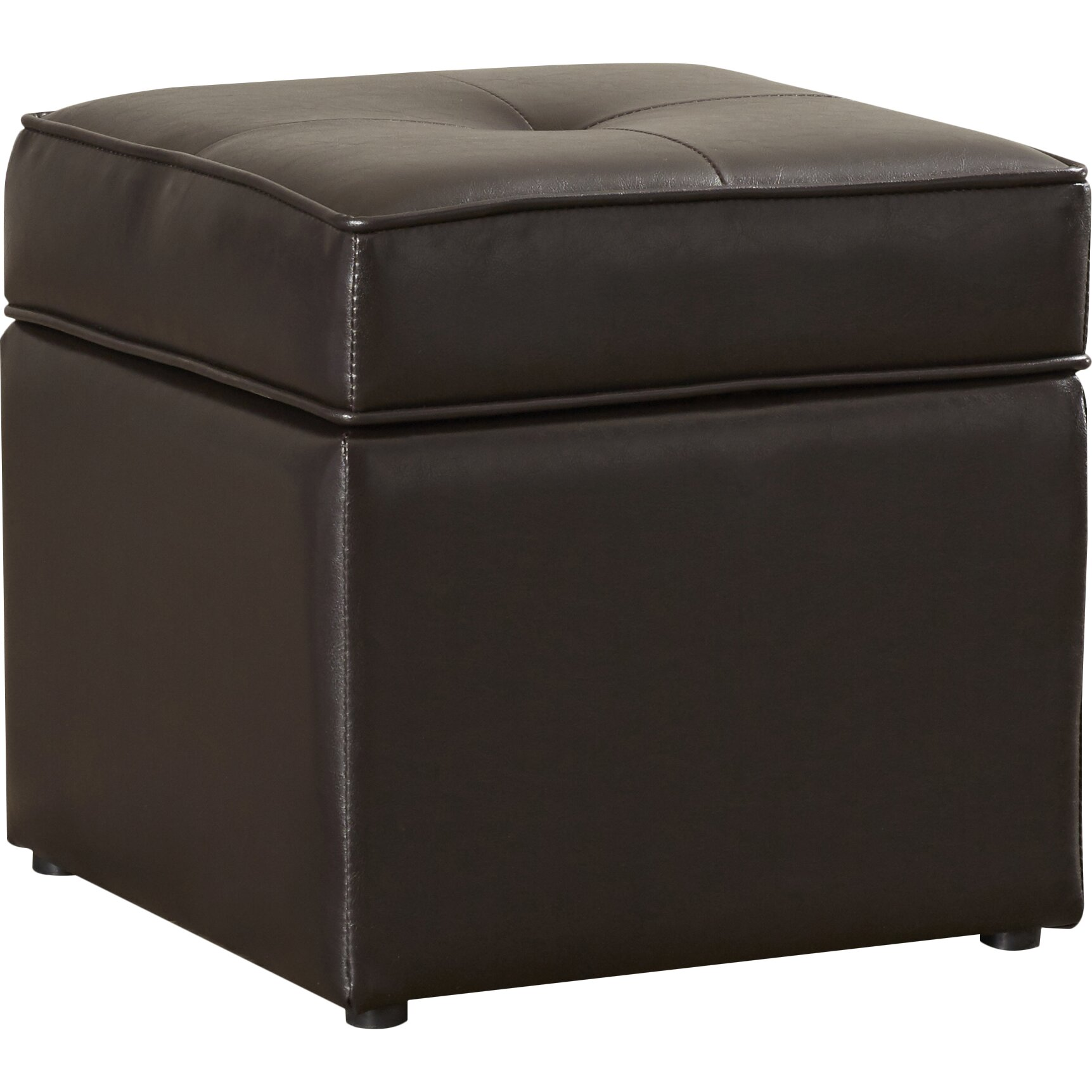 Latitude Run Scorpius Cube Ottoman Reviews Wayfair