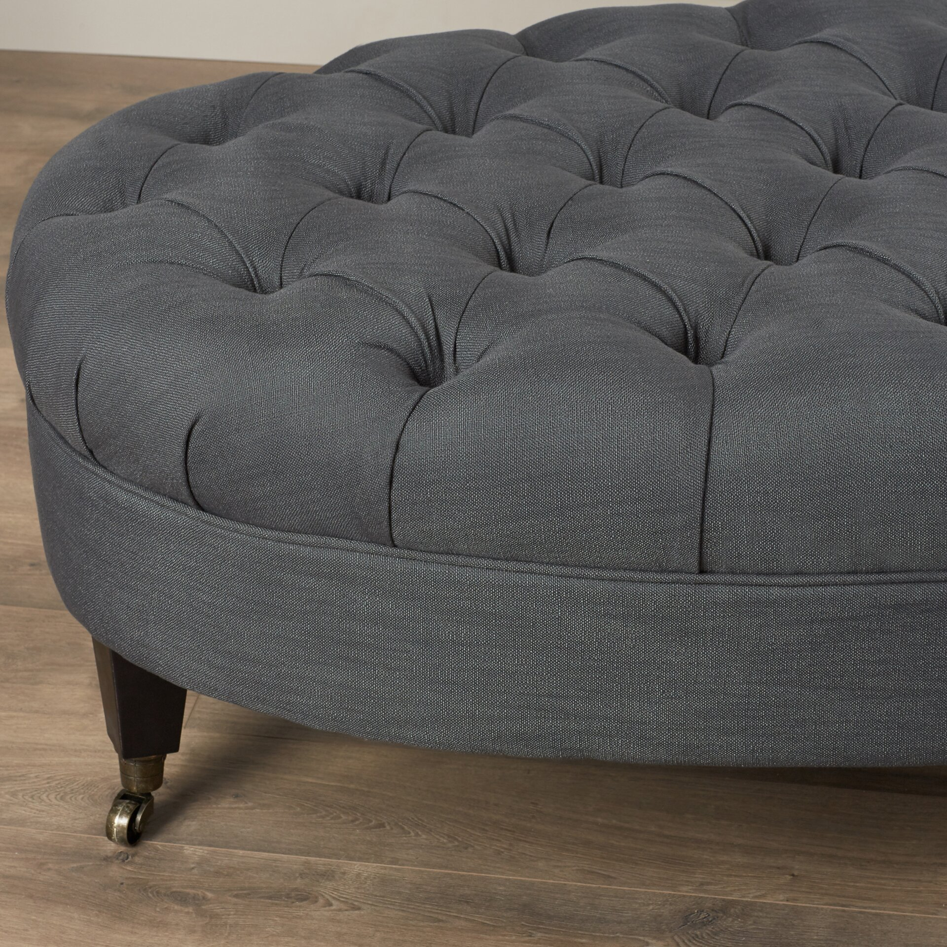 Latitude Run Lockport Tufted Cocktail Ottoman Amp Reviews