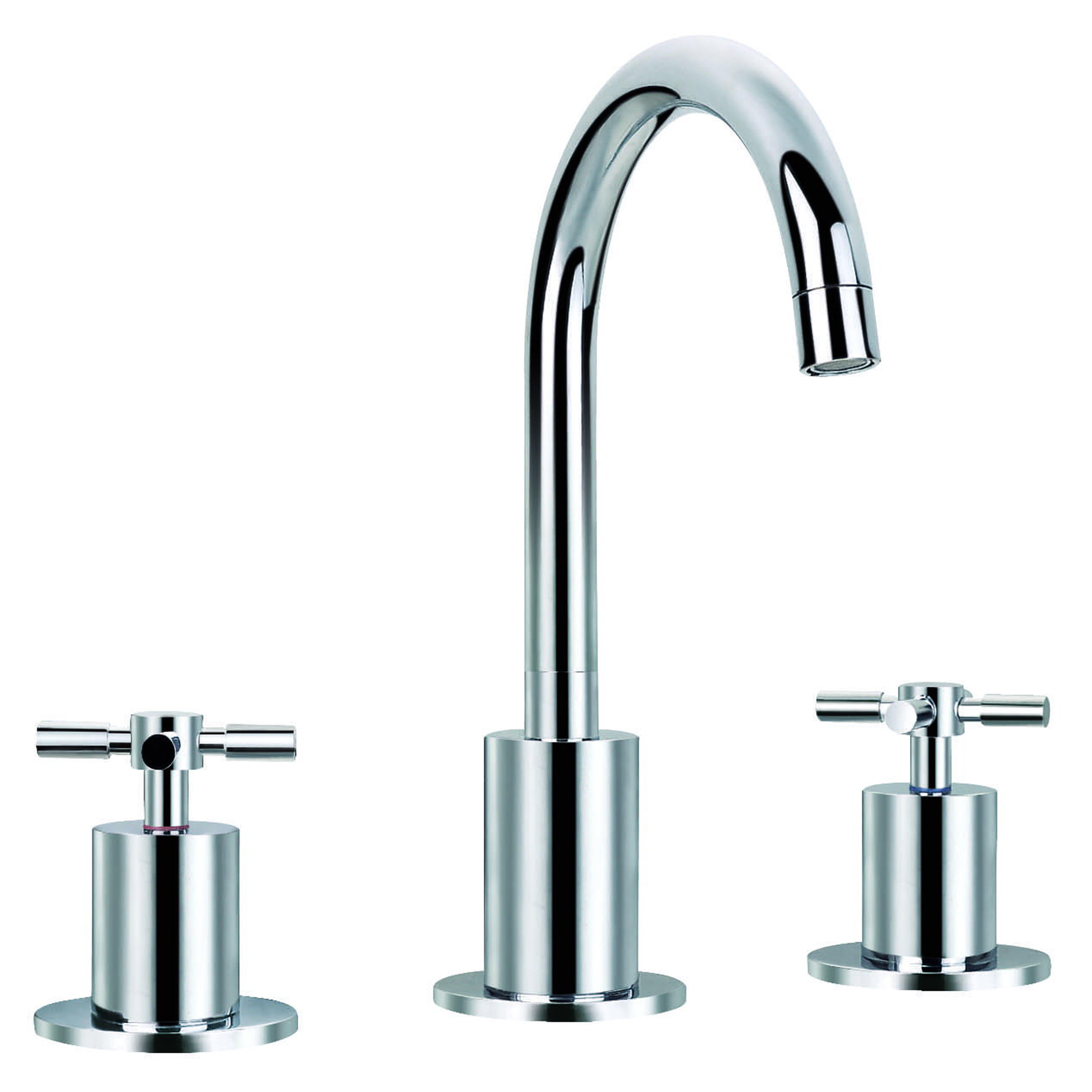 Ancona Prima Standard Bathroom Faucet Double Handle Reviews Wayfair
