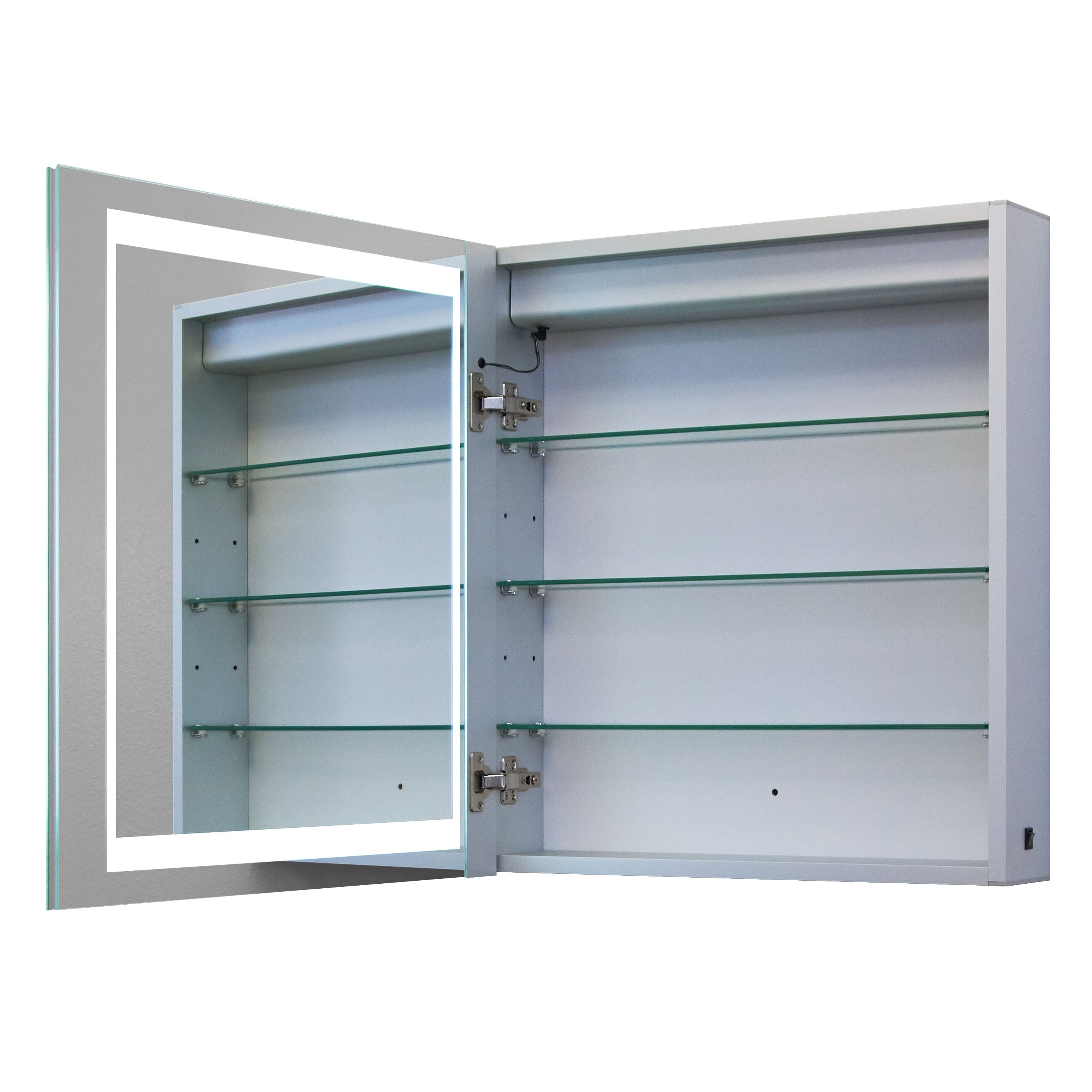 Innoci Illumirror 24 X 26 Surface Mount Medicine Cabinet