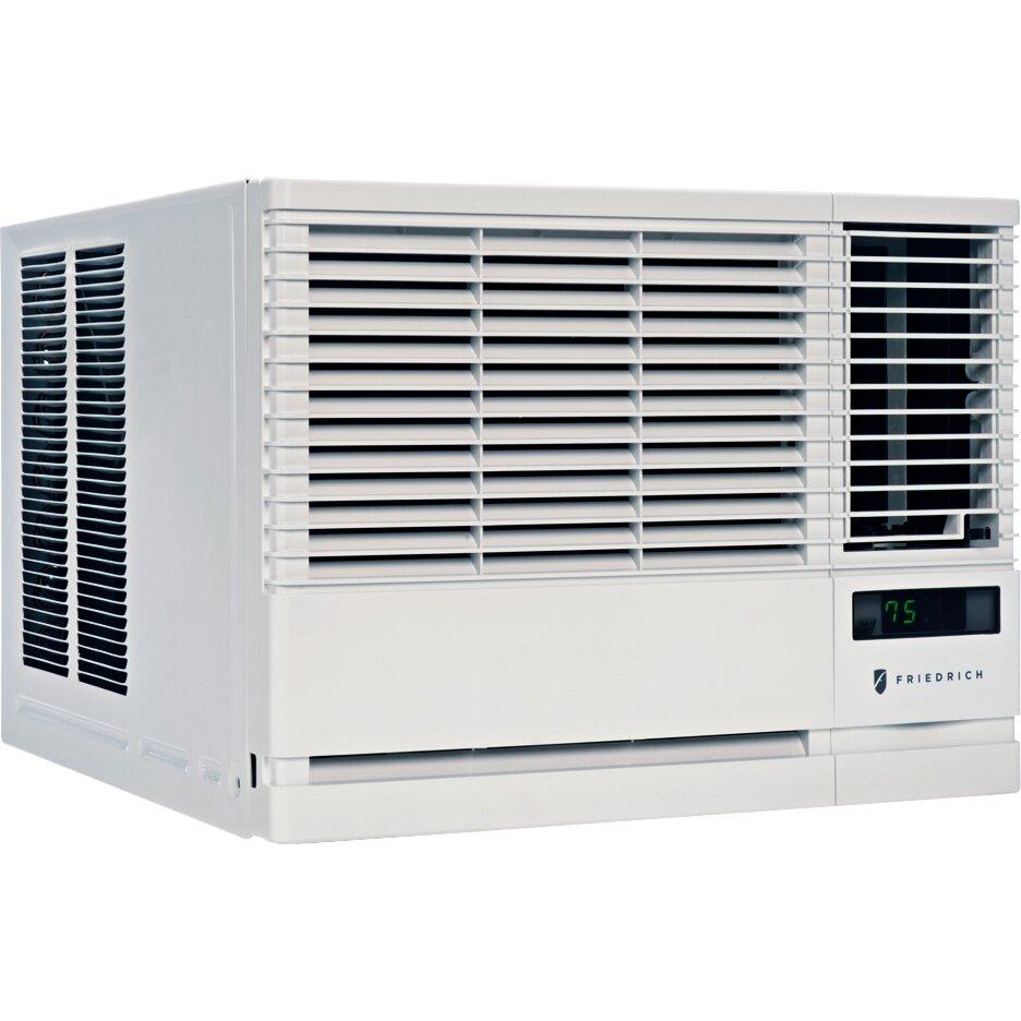 Friedrich chill 19000 18600 btu energy star window air for 18 inch window air conditioner