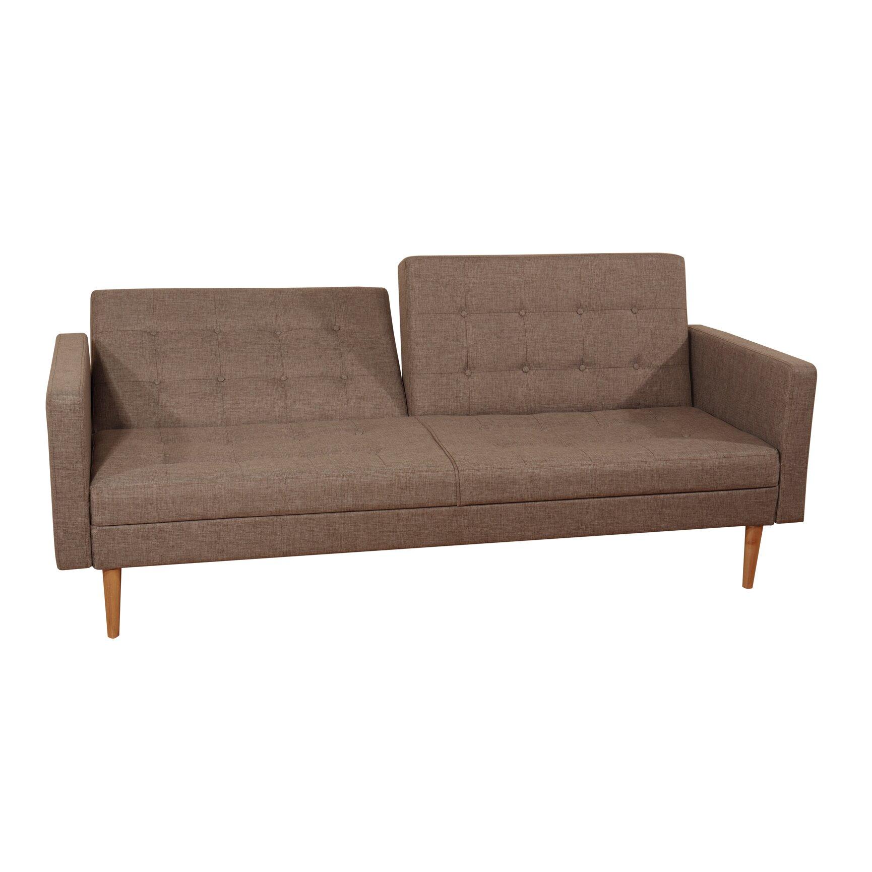 mercury row gaius 3 seater clic clac sofa bed reviews. Black Bedroom Furniture Sets. Home Design Ideas