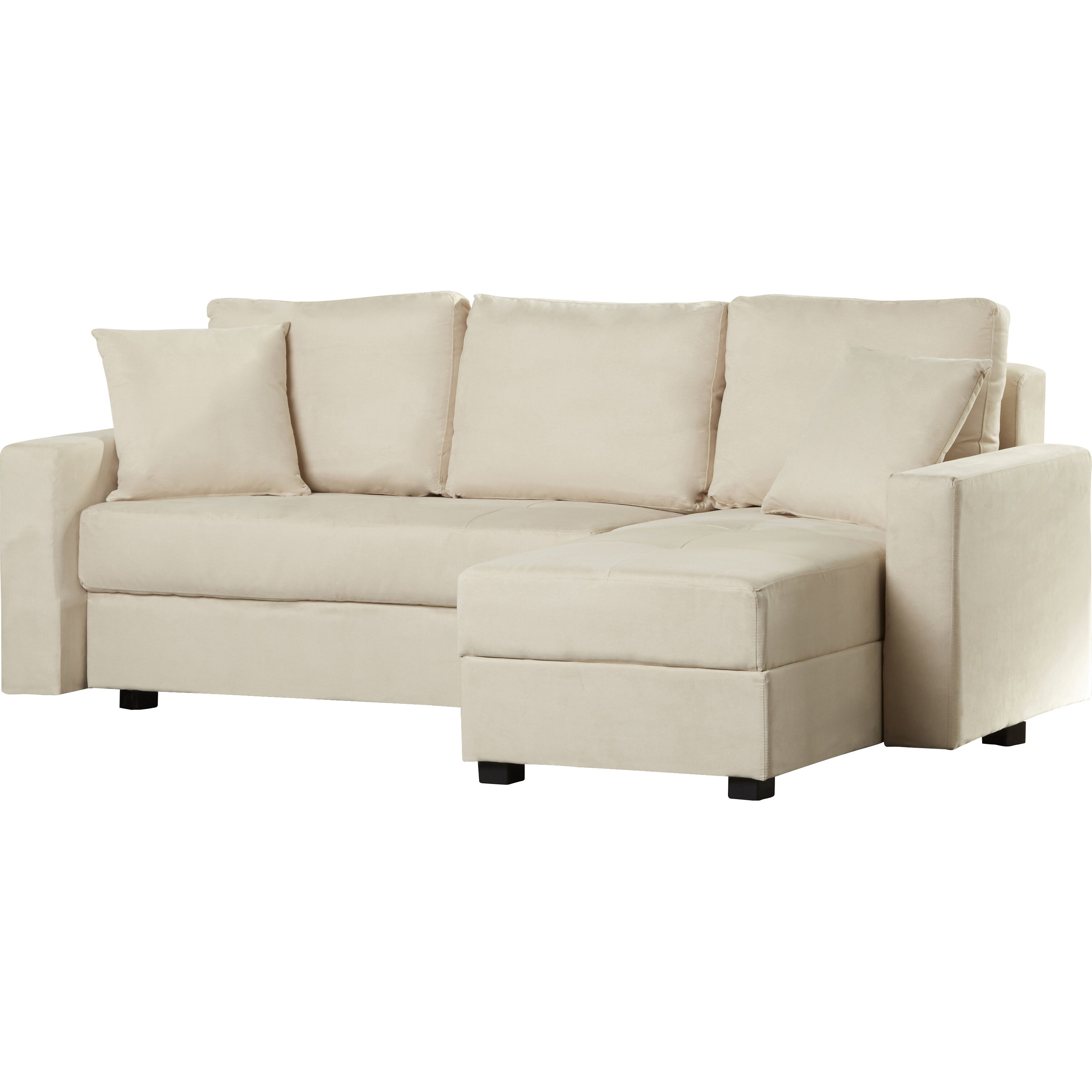 Three posts hartsville reversible chaise corner sofa for Chaise corner sofa
