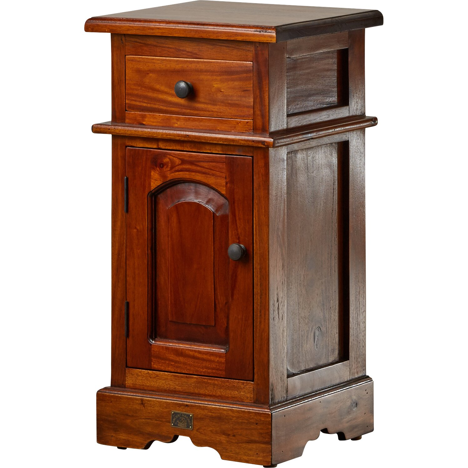 three posts rathbone 1 drawer bedside table reviews. Black Bedroom Furniture Sets. Home Design Ideas