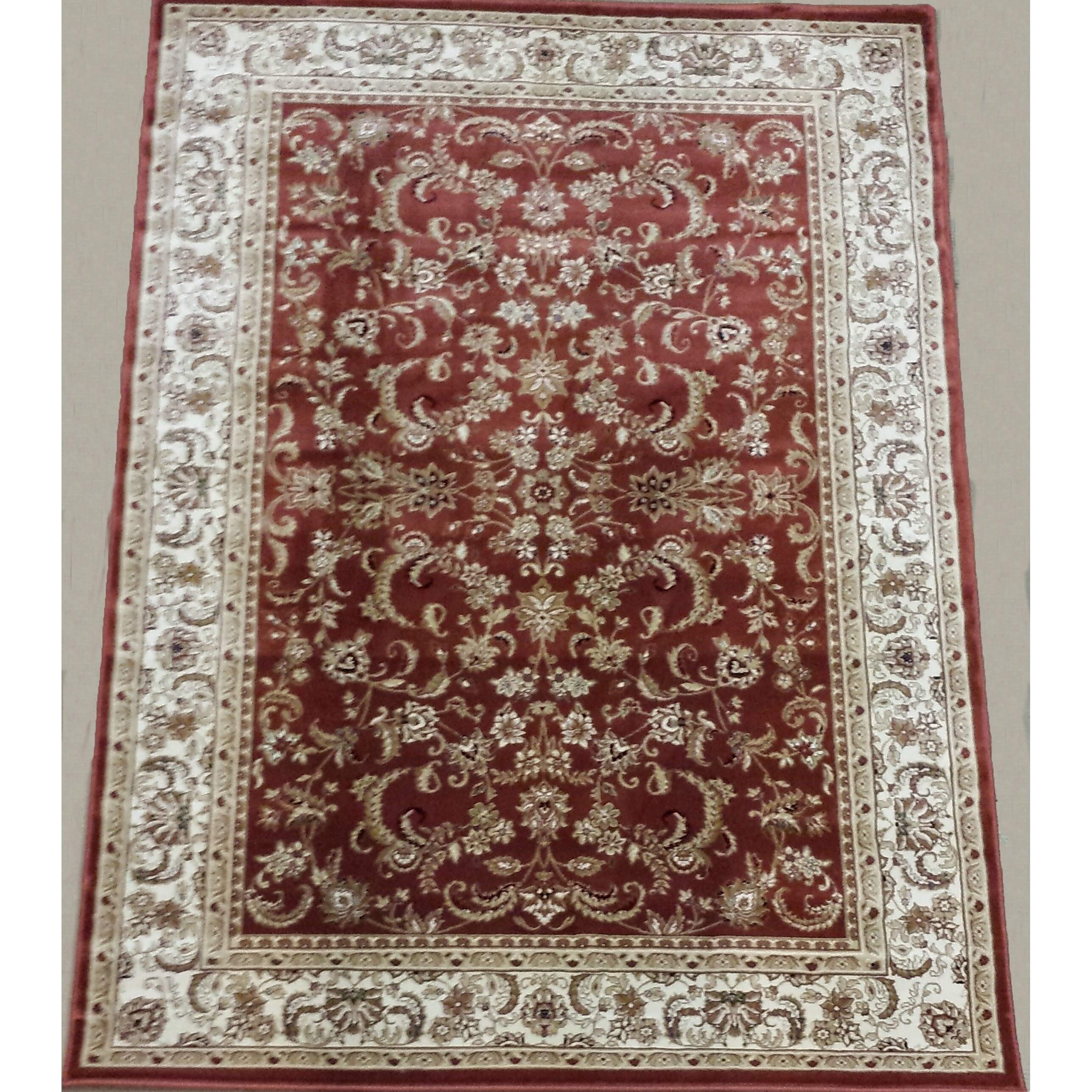 brady home red area rug wayfair