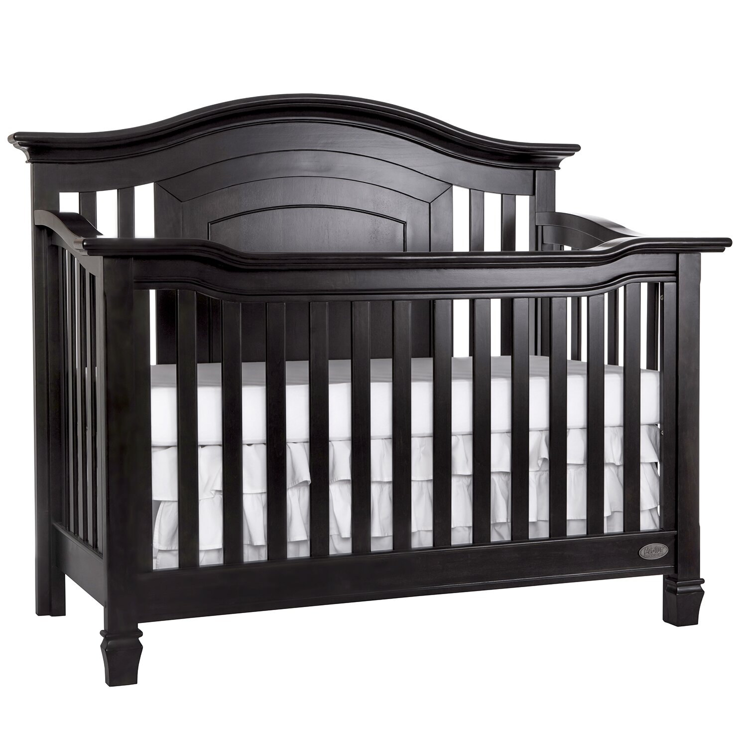 Evolur fairbanks 5 in 1 crib wayfair for Furniture fairbanks
